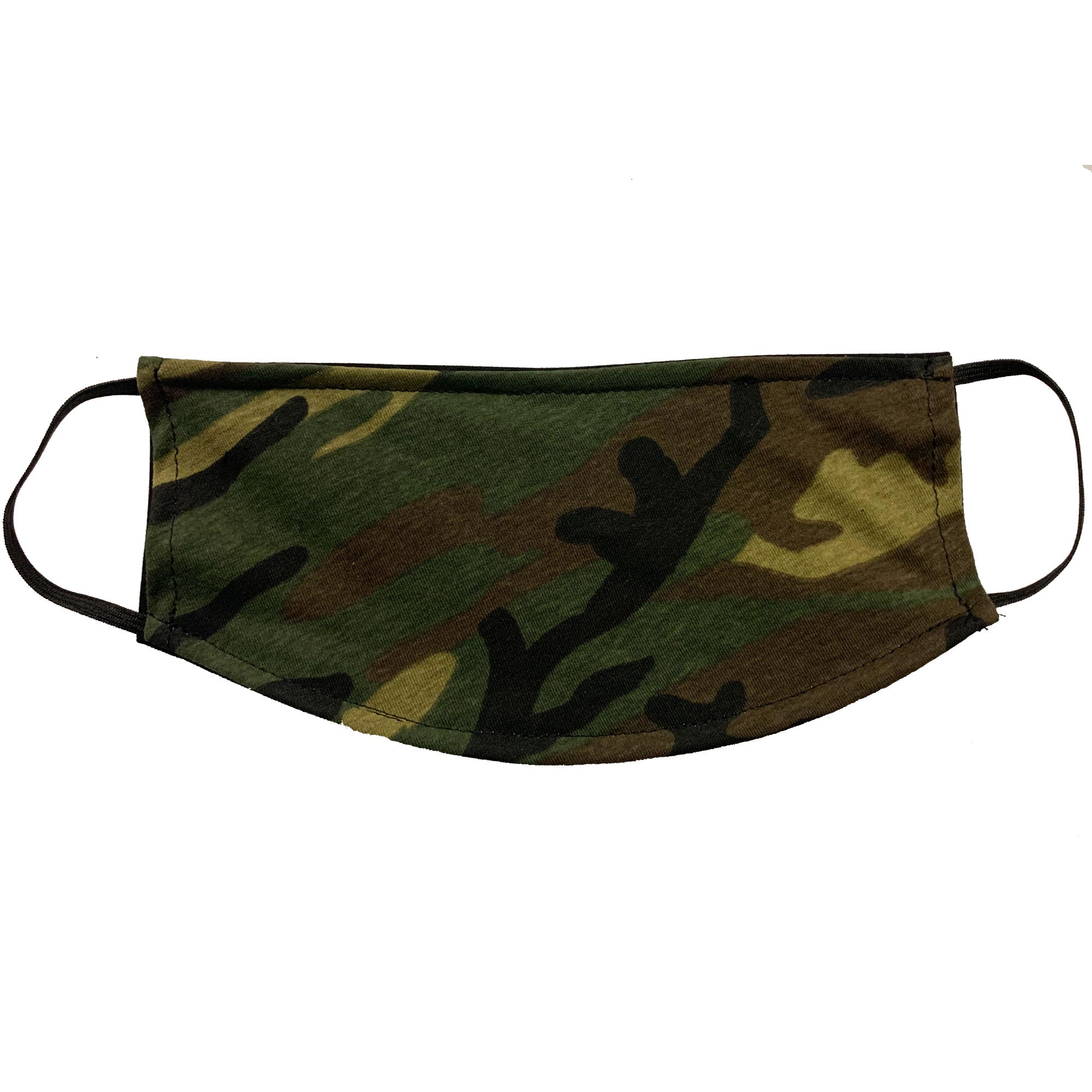 Adult Face Mask - Military Camo Design