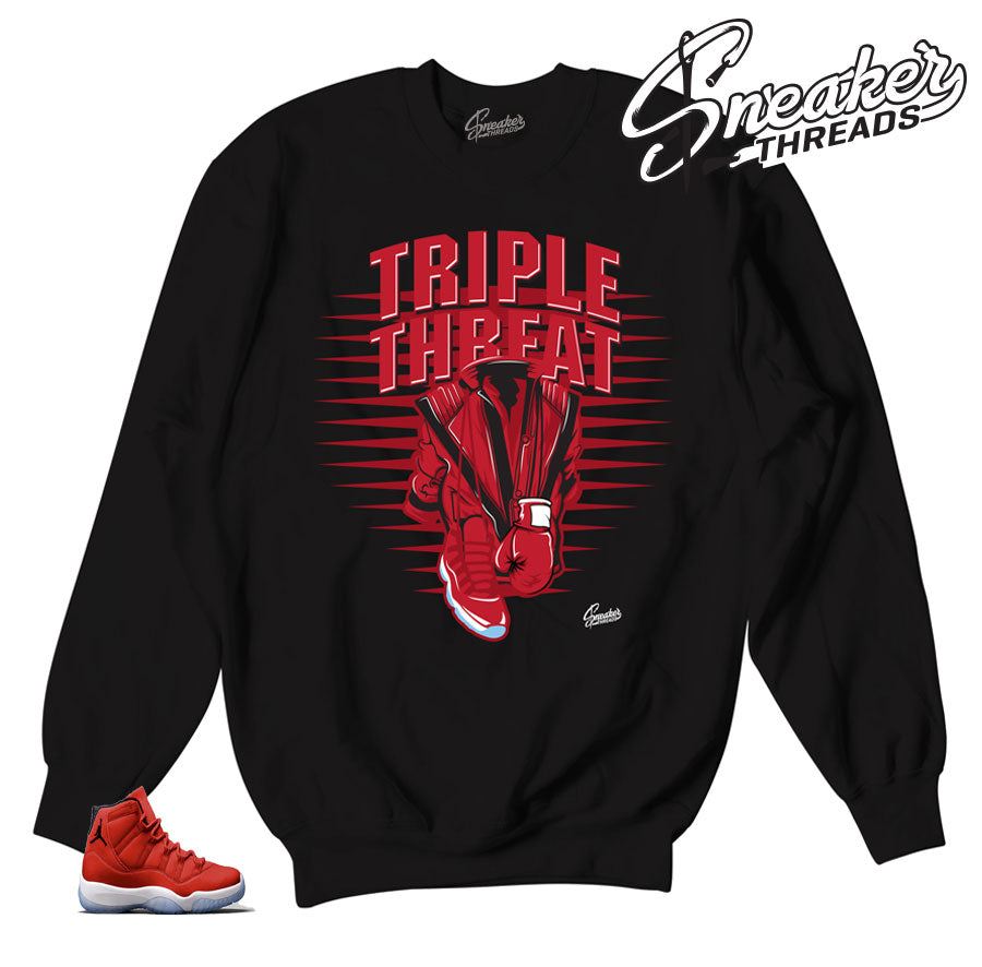 Jordan 11 win like 96 sweaters | Three kings sweater.