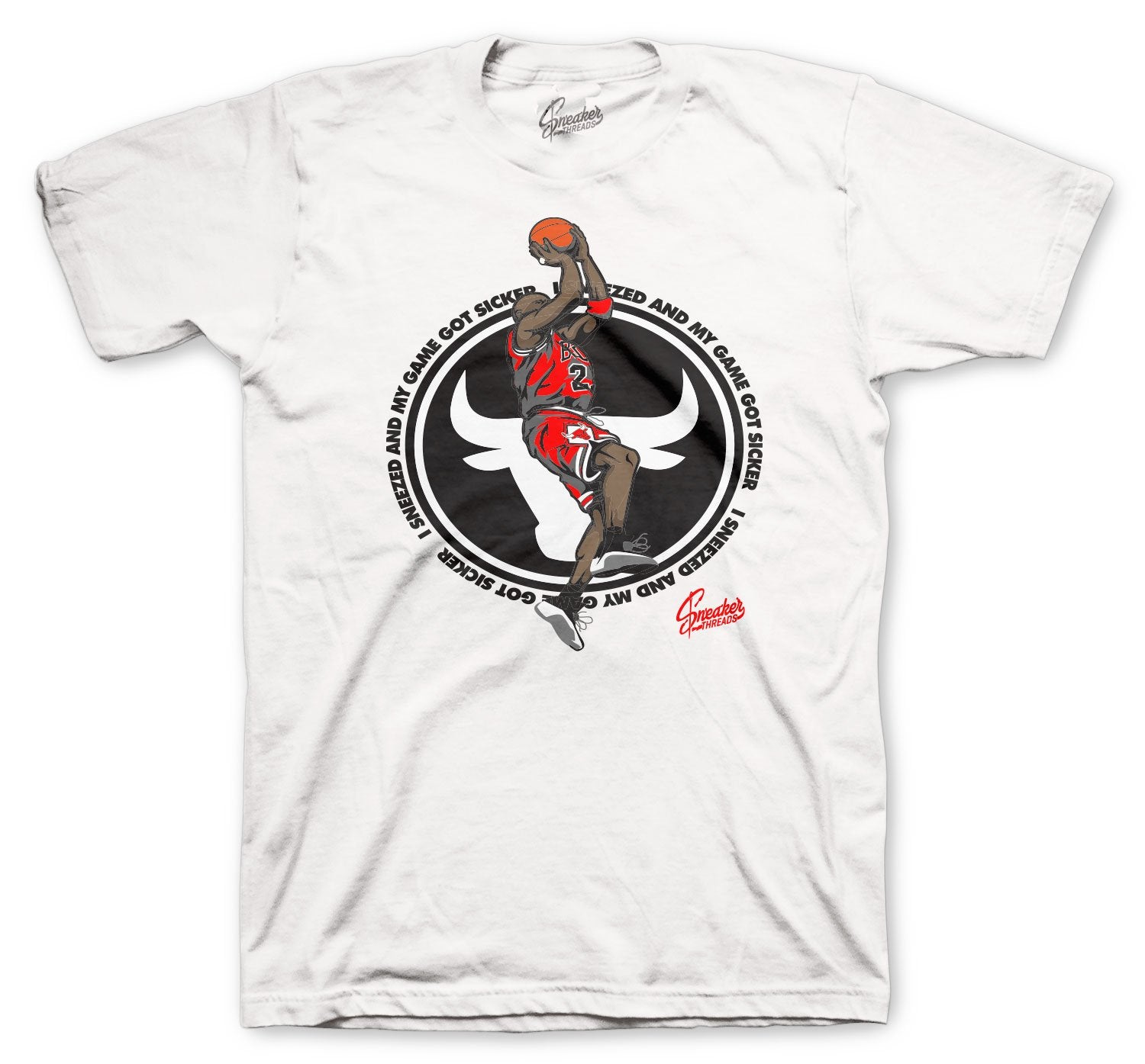 Shirt collection created to match perfect with the Jordan 12 dark wolf grey