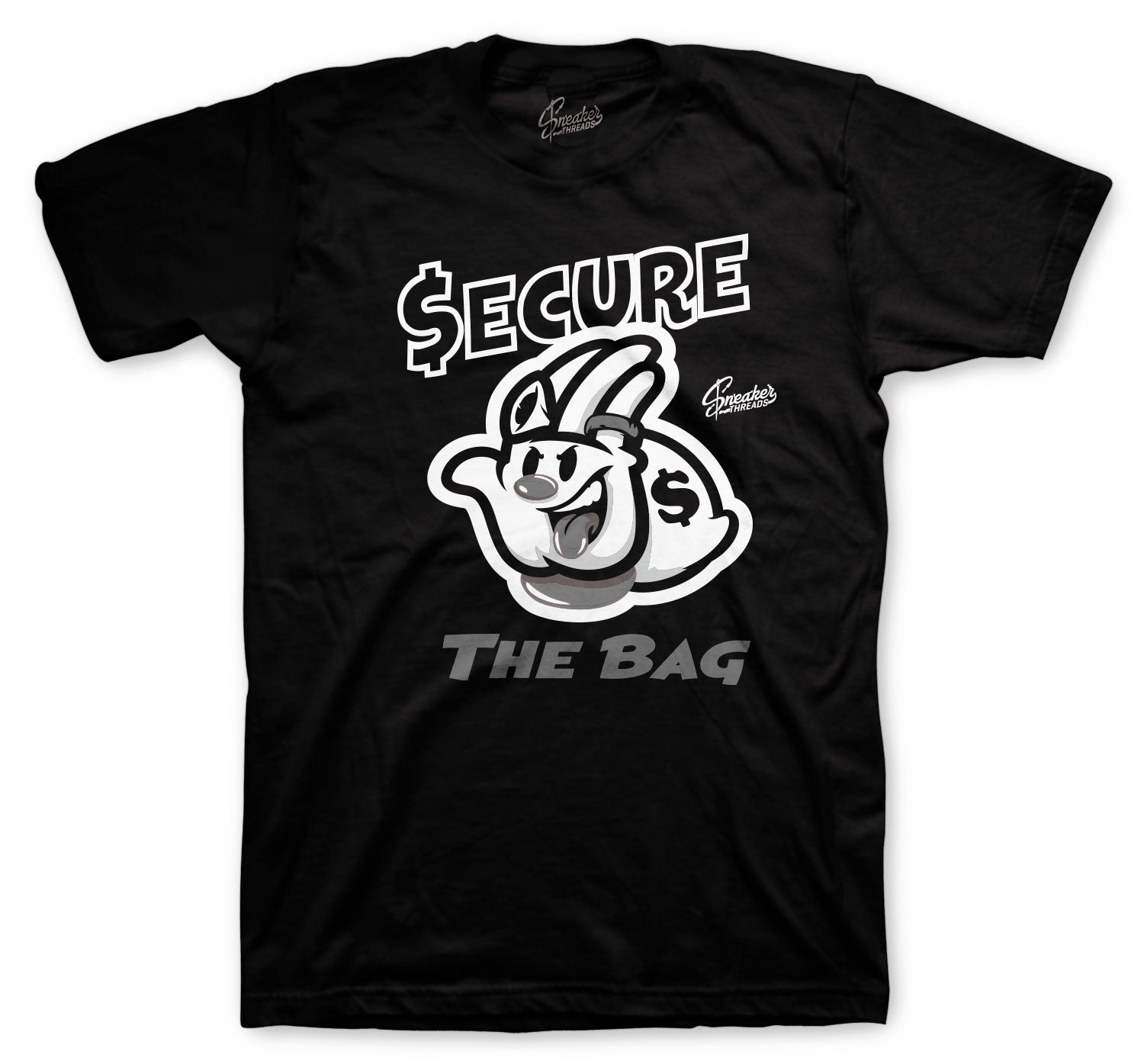 Jordan 4 Black Cat Secure The Bag Shirt