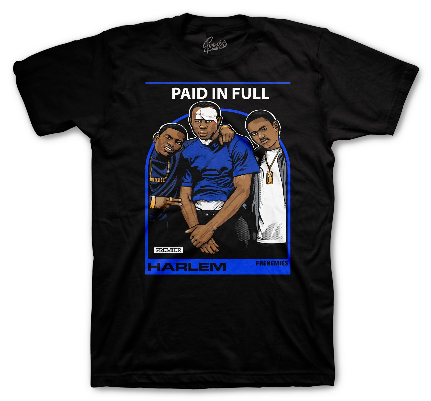 Jordan 14 Hyper Royal Frenemies Shirt