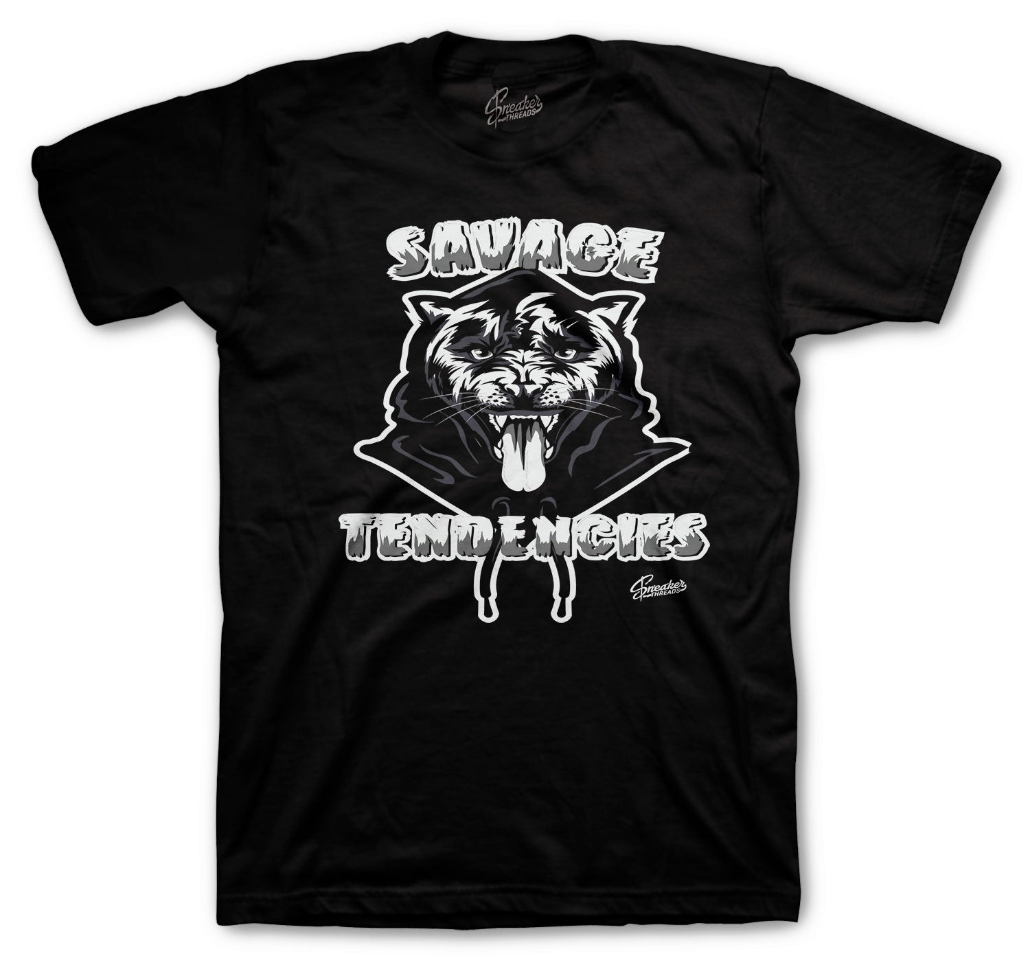 Jordan 4 Black Cat Savage Tendencies Shirt