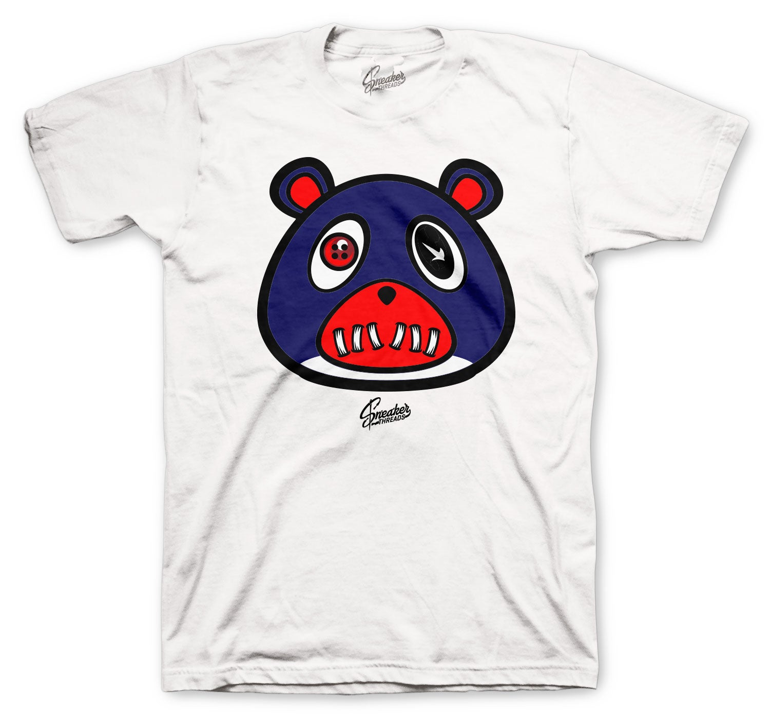 Foamposite Blue Void ST Bear Shirt