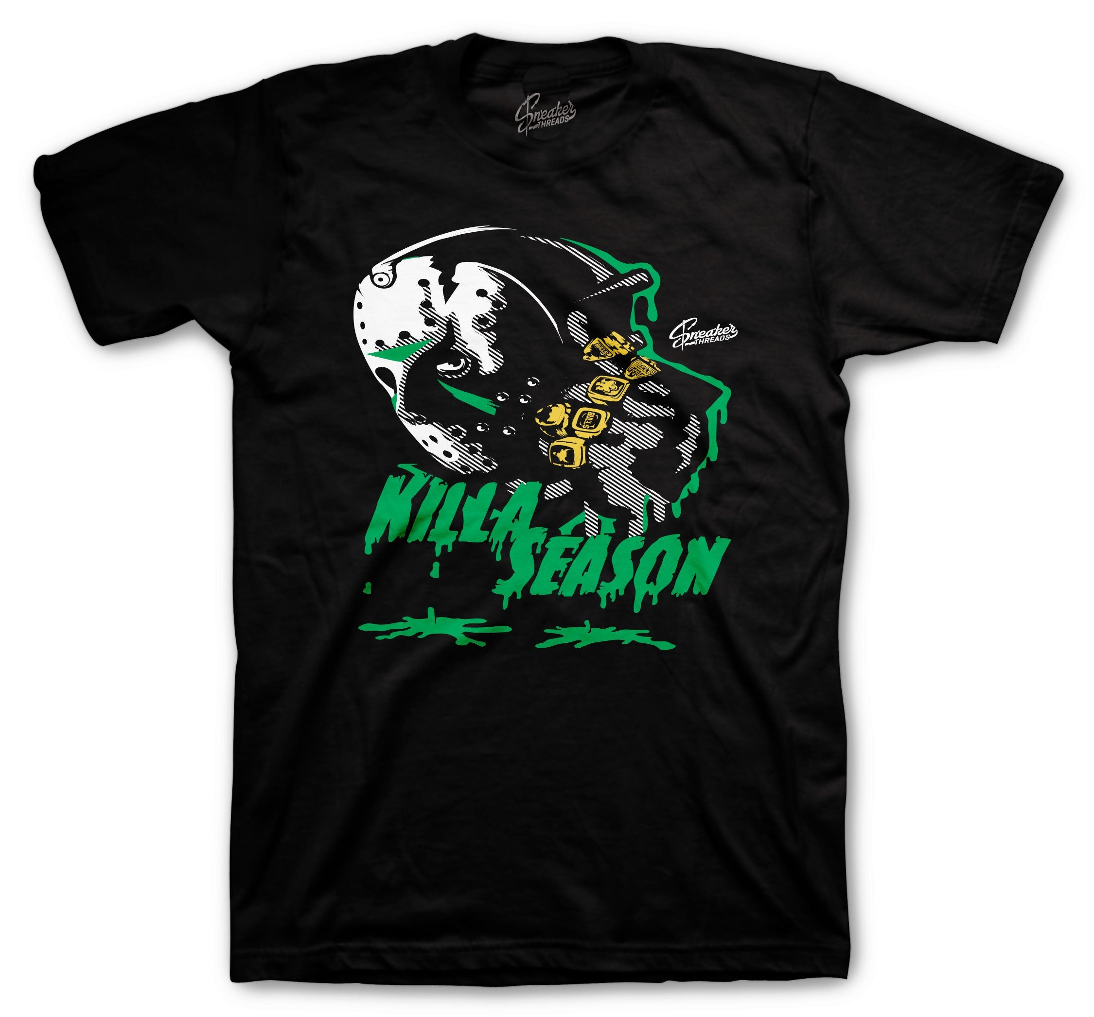 Jordan retro 1 pine green sneaker collection that has t shirt collection