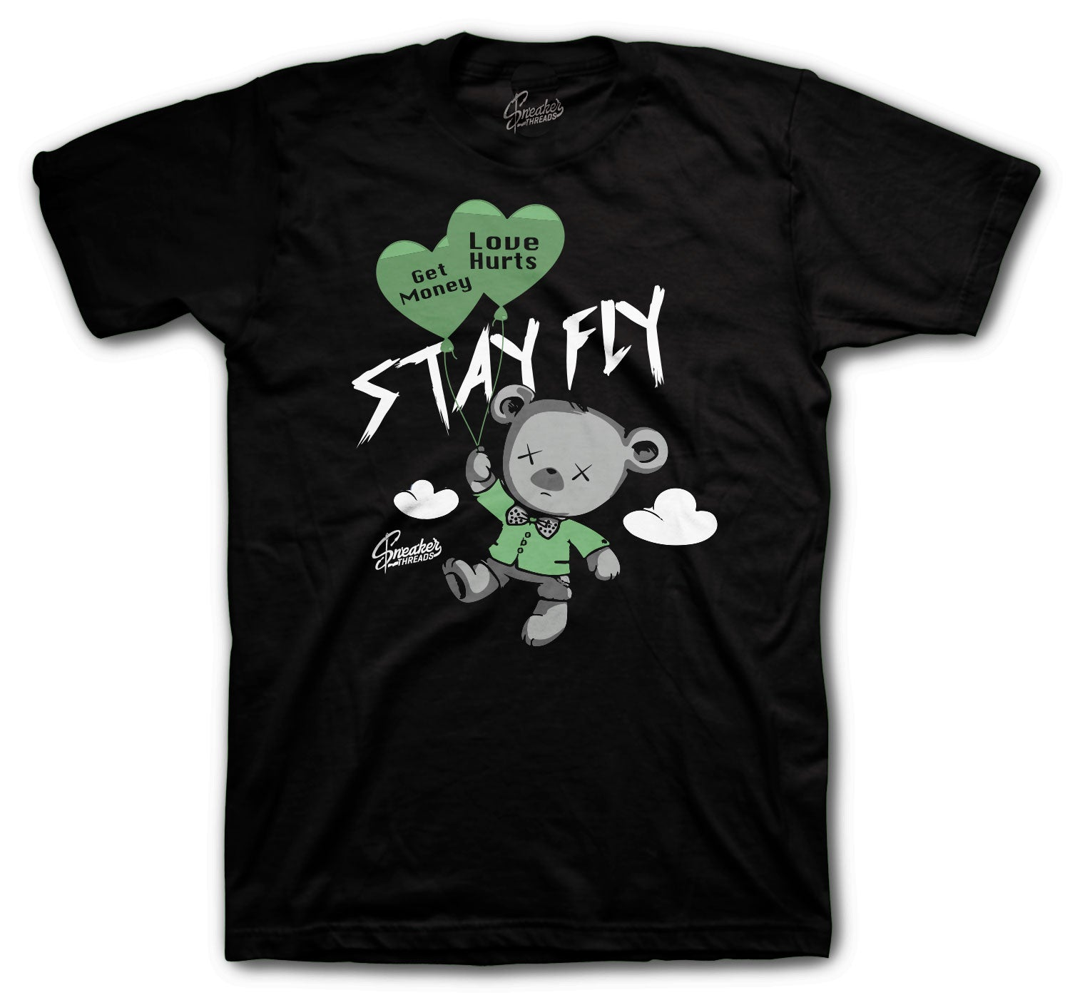 Jordan 1 Zen Green Money Over Love Shirt