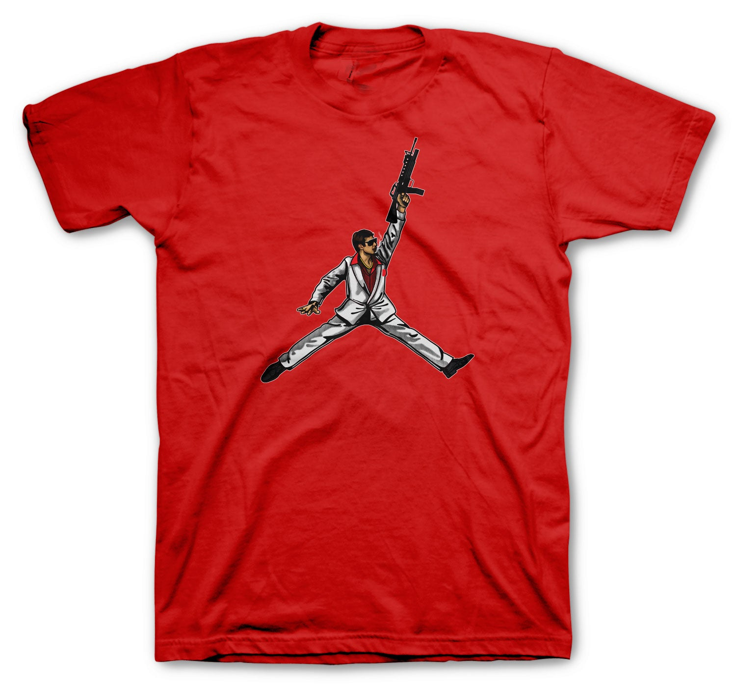 t shirt collection matches mens sneaker collection Jordan 14 gym Red