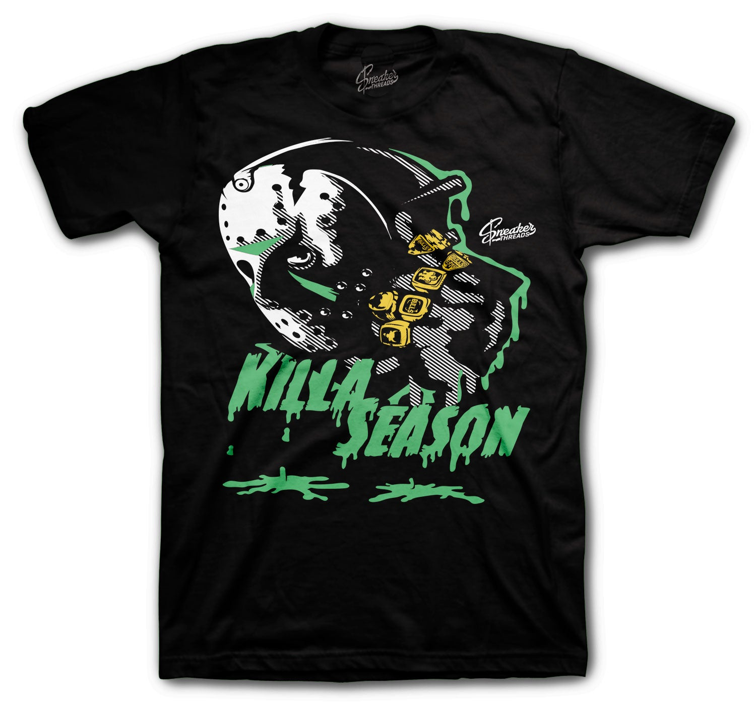 Jordan 1 Zen Green Killa Season Shirt