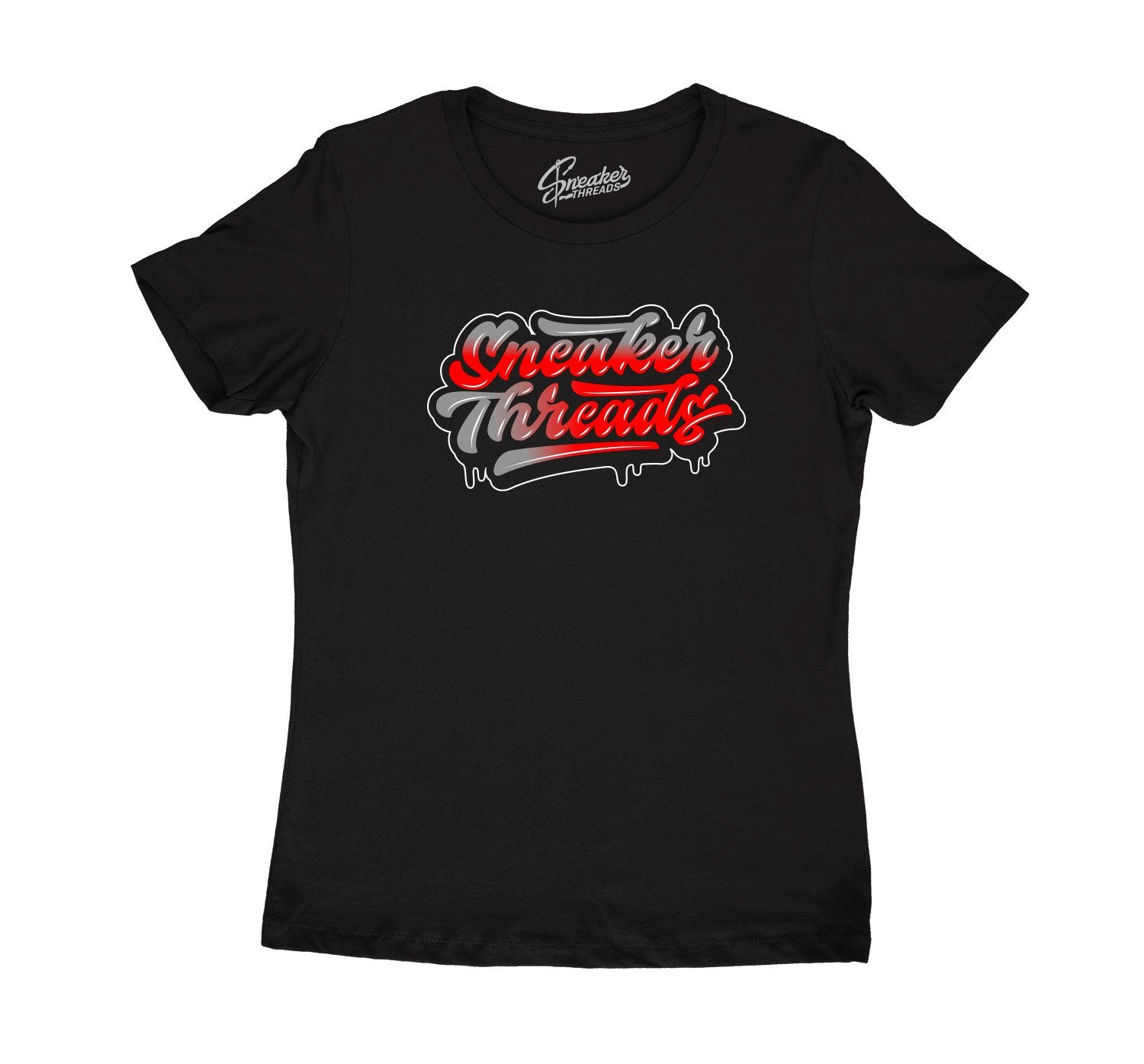Jordan 12 Dark Grey sneakers have matching ladies shirt collection