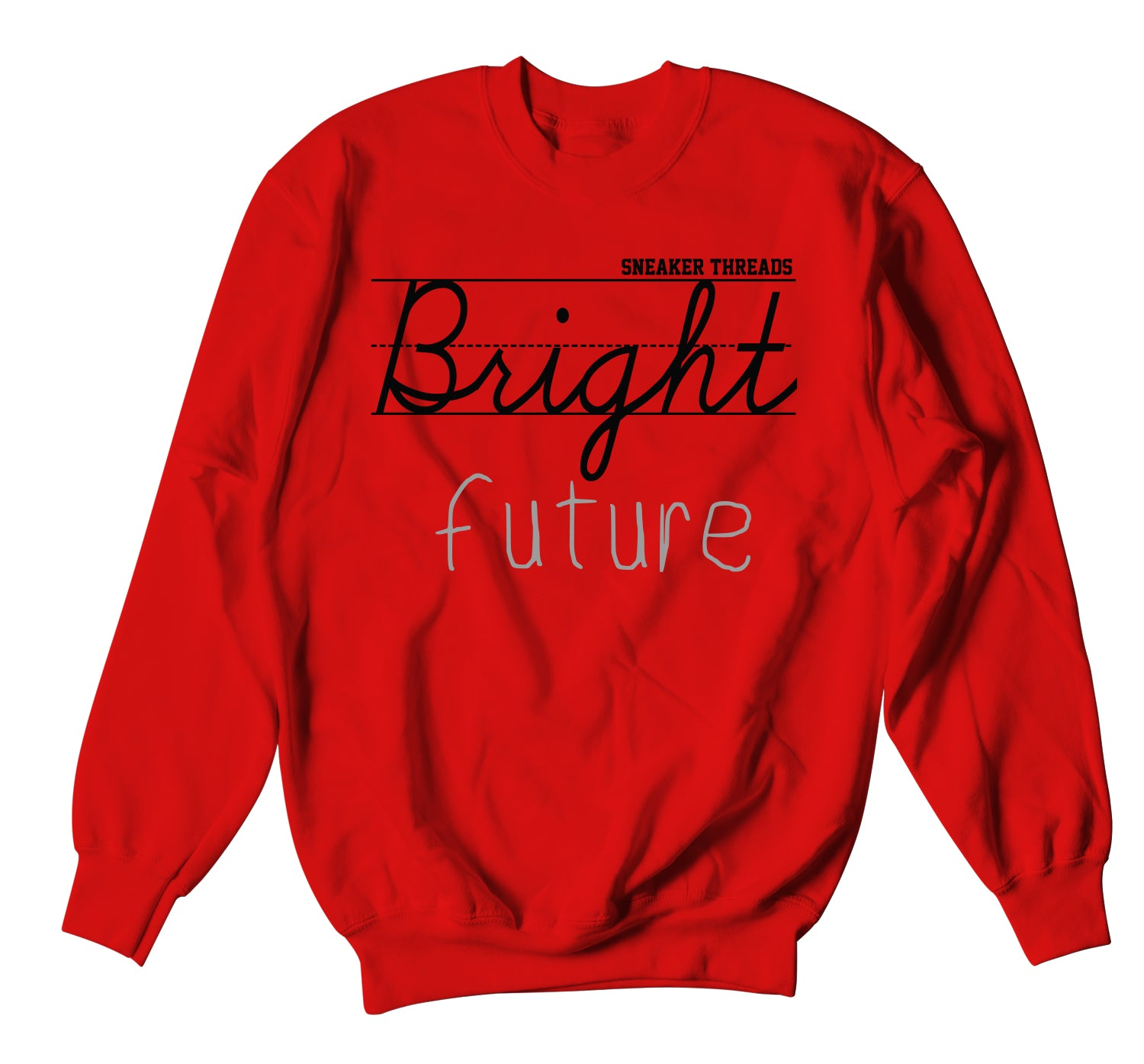 Jordan 3 Red Cement Bright Future Sweater