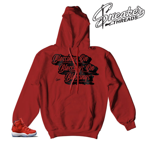 Jordan 11 win like 96 hoodies match | Chicago classic hoody.