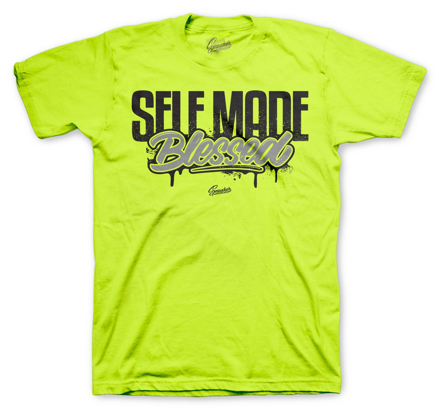 T shirt collection designed to match perfectly with the Jordan 4 retro neon volts
