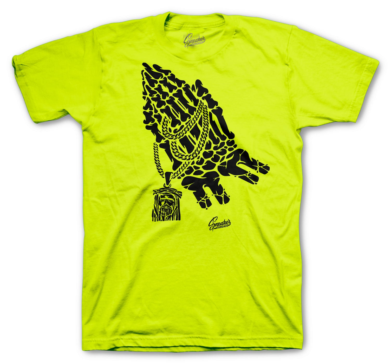 Foamposite Volt Pray Shirt