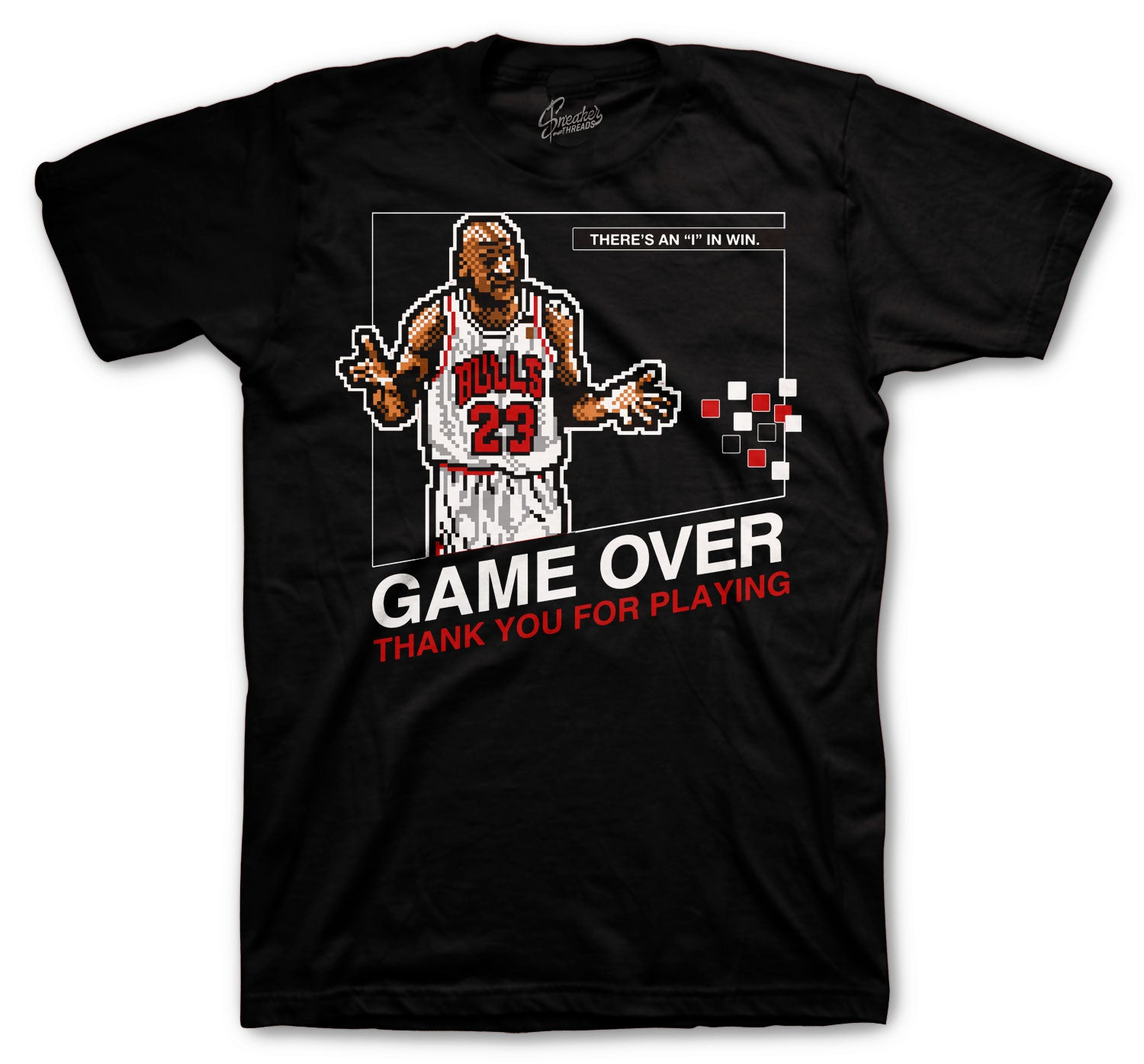 Jordan 1 AJKO Chicago Game Over Shirts