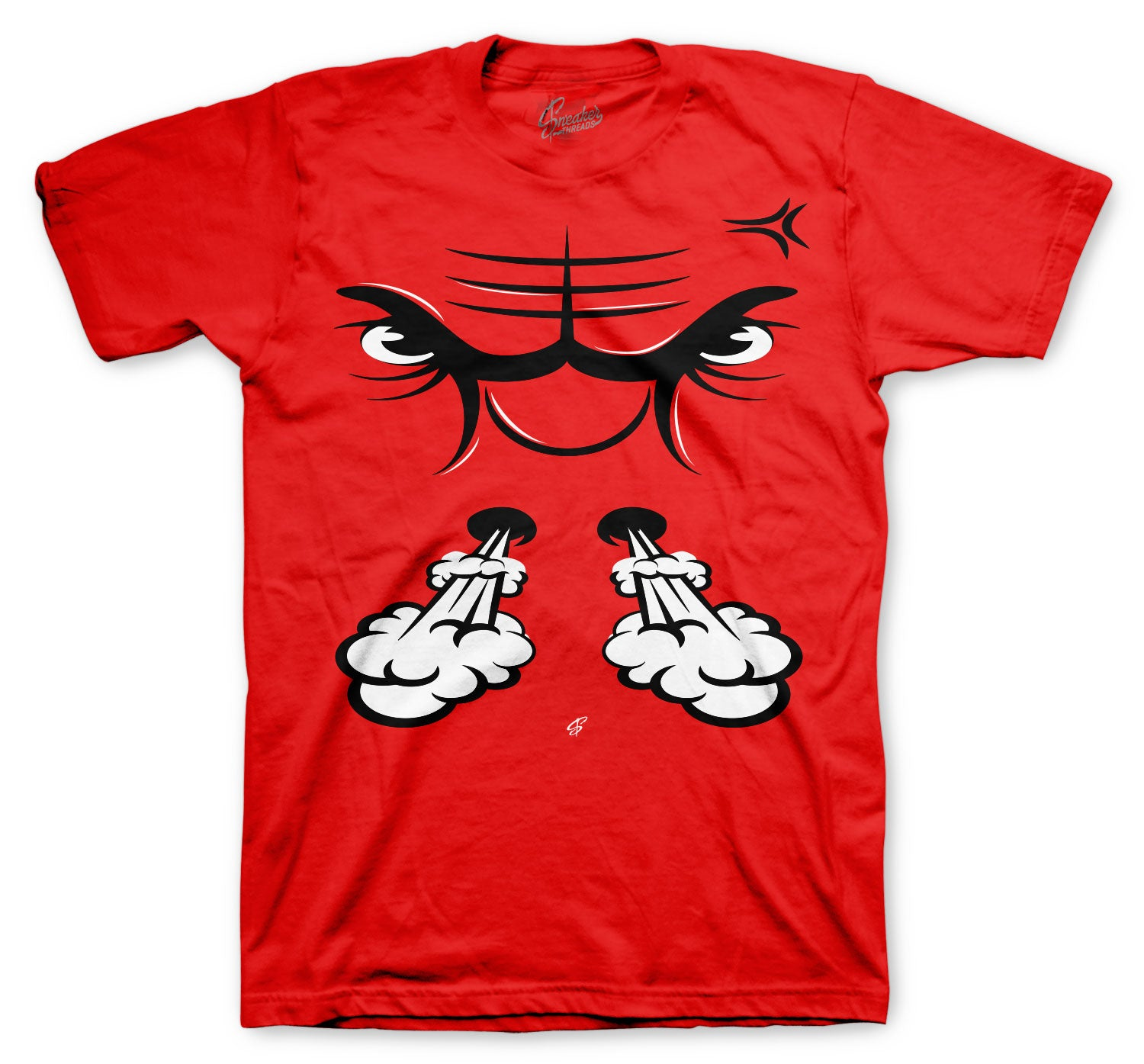 Jordan 1 AJKO Chicago Raging Face Shirts