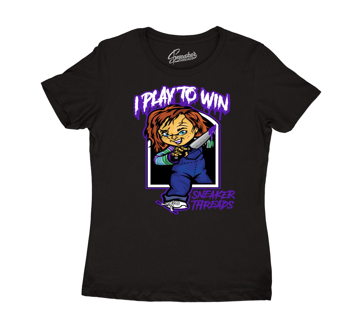 Womens - Dark Concord 12 Play To Win Shirt
