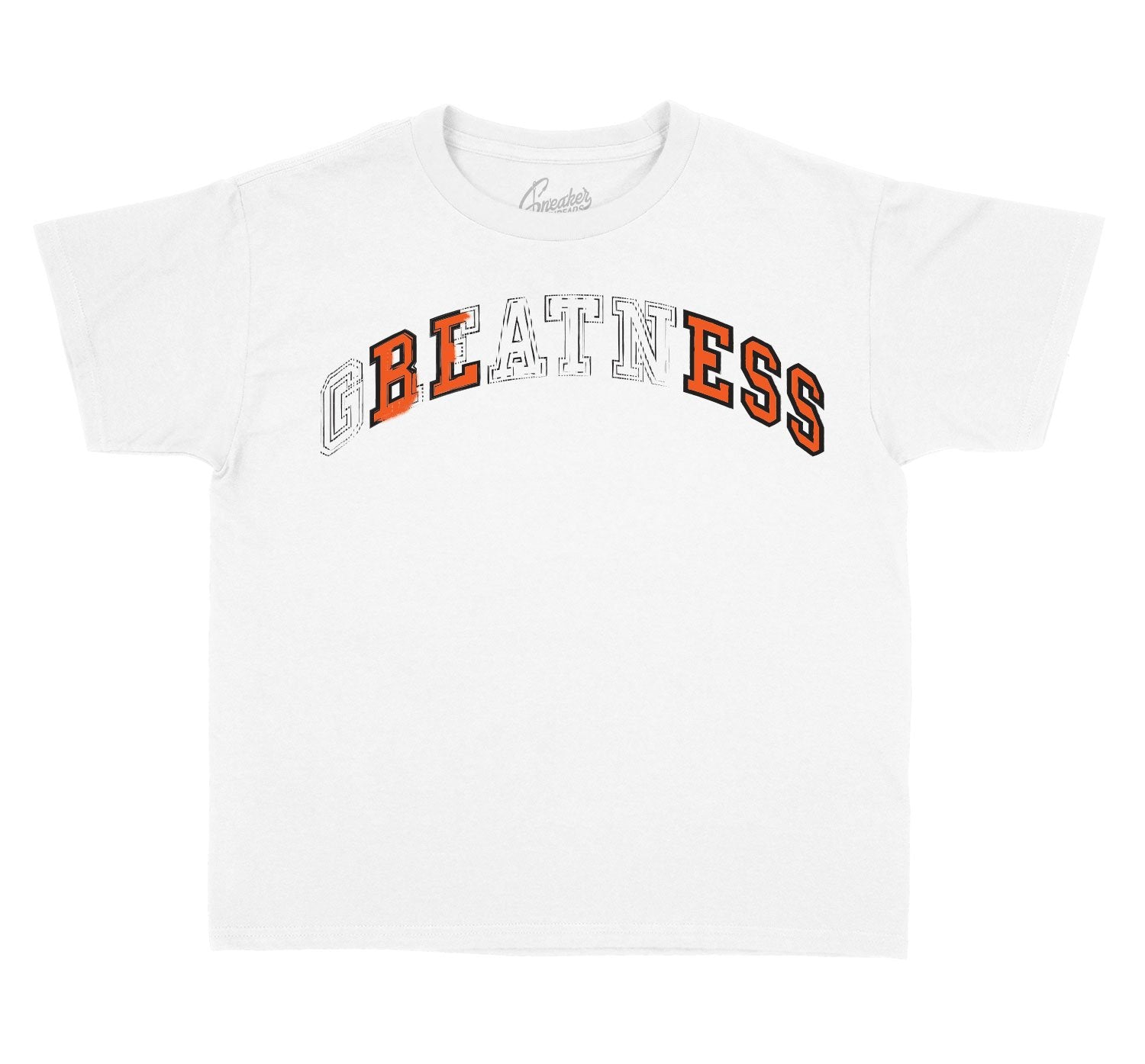 Kids tees created to match the foamposite sneaker shattered backboards