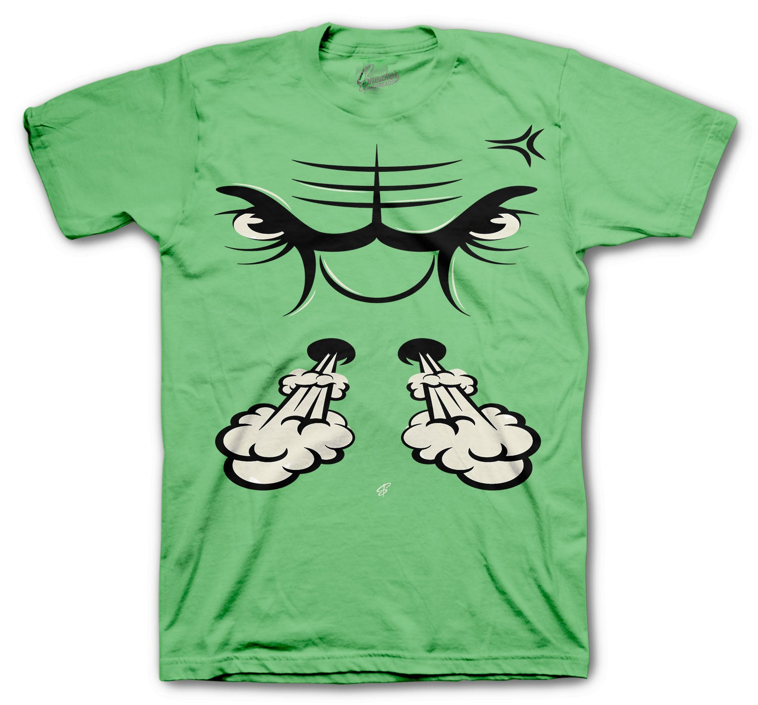 Jordan 1 Zen Green Raging Face Shirt
