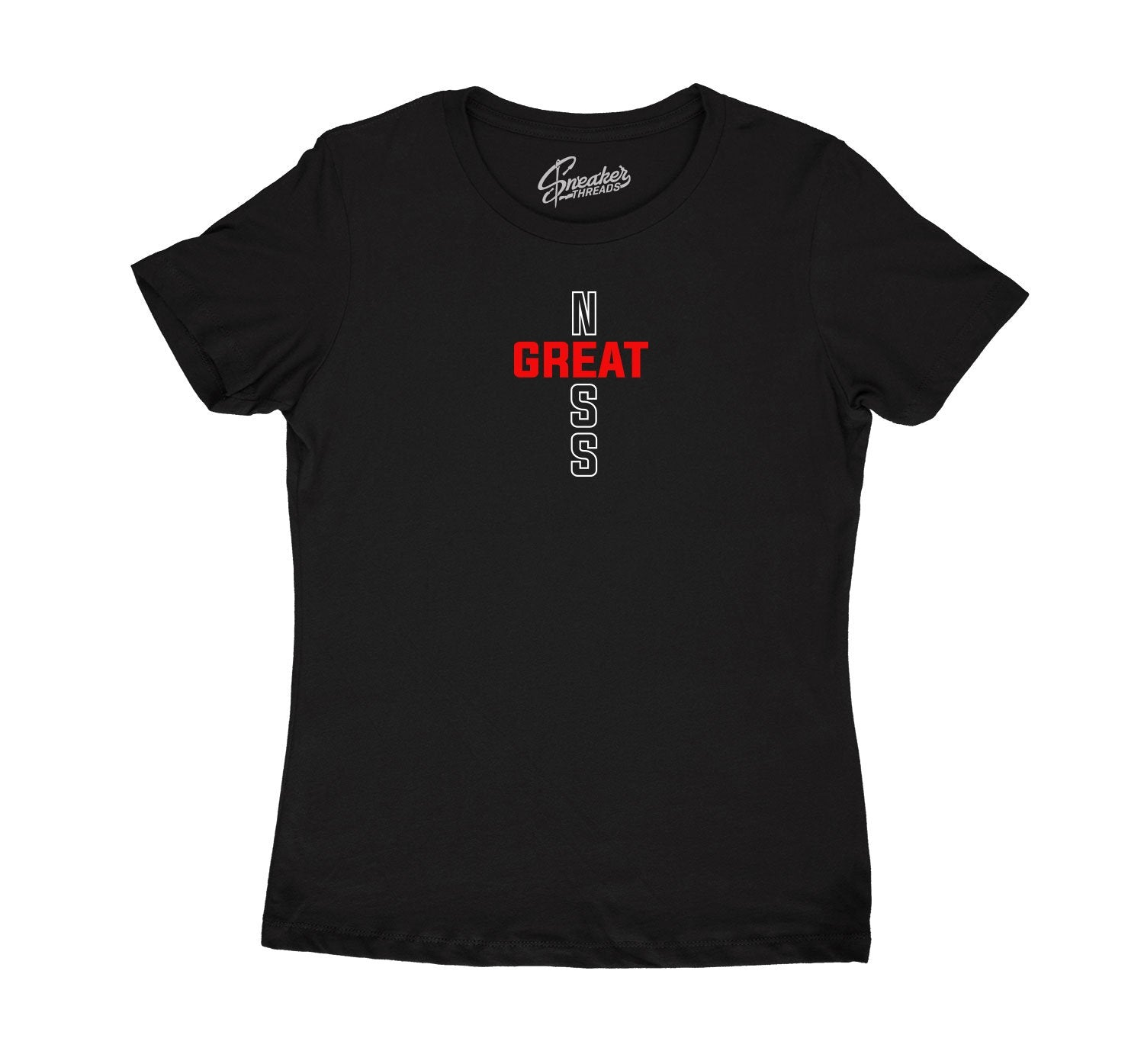 ladies shirts designed to match the Jordan 11 retro bred sneaker collection