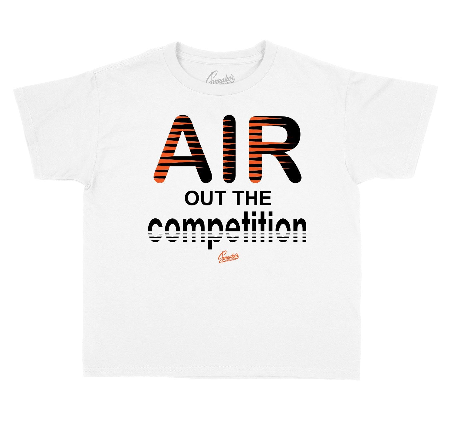 kids t shirt designed to match the sneaker collection designed to match shattered back board foams