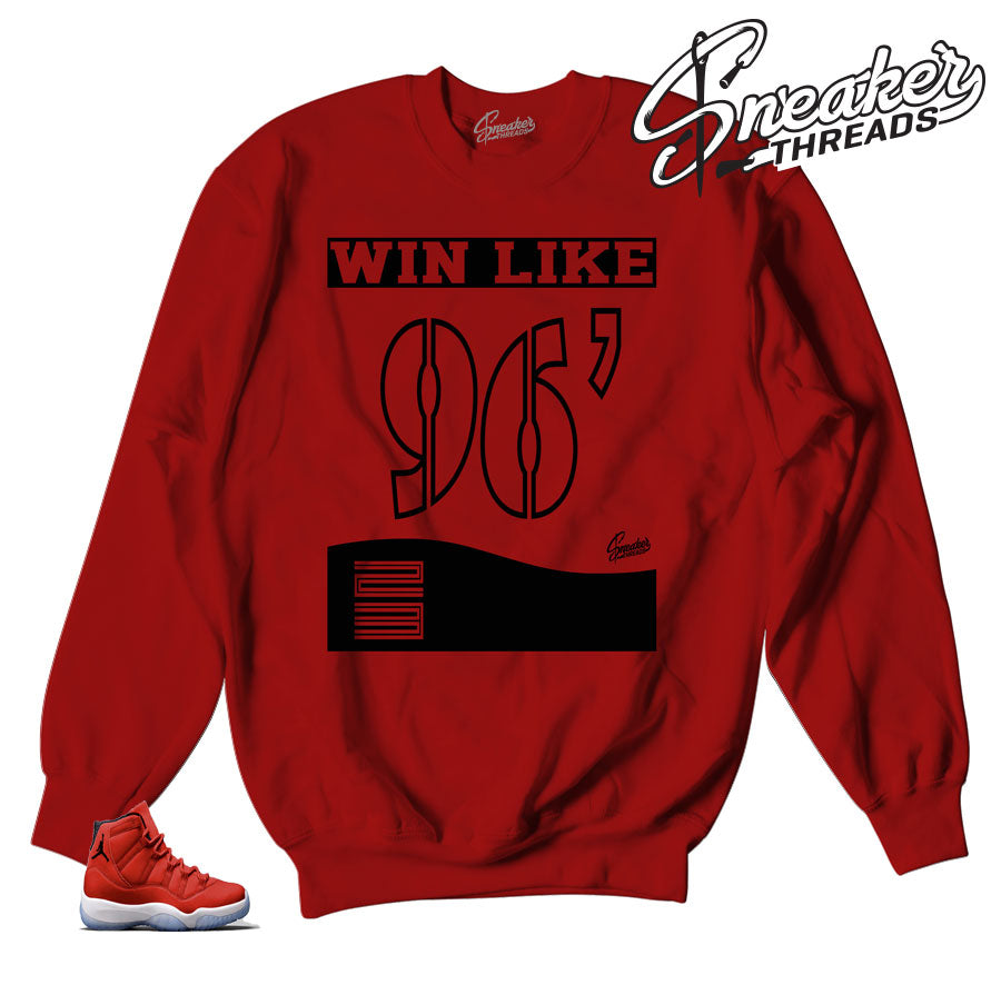 Jordan 11 win like 96 sweaters | Shoe box sweater.