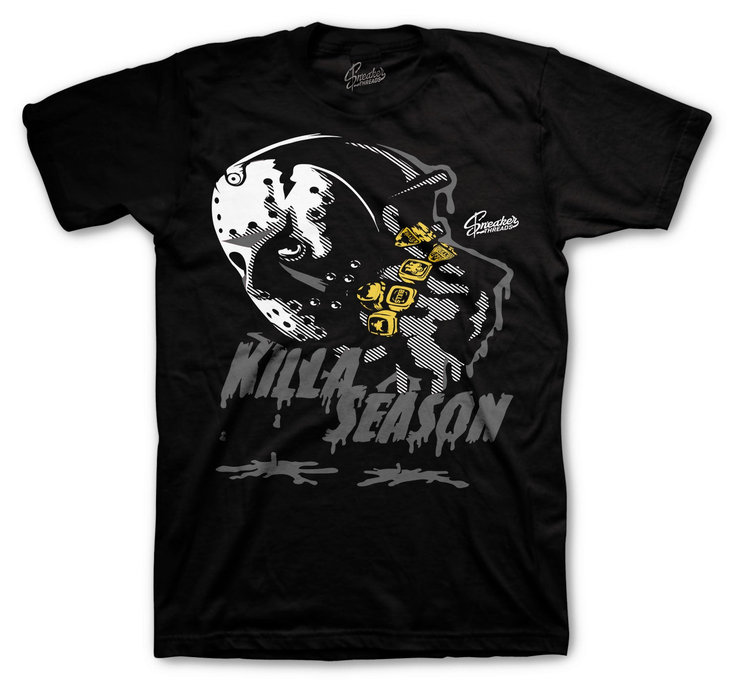 Jordan 4 Black Cat Killa Season Shirt