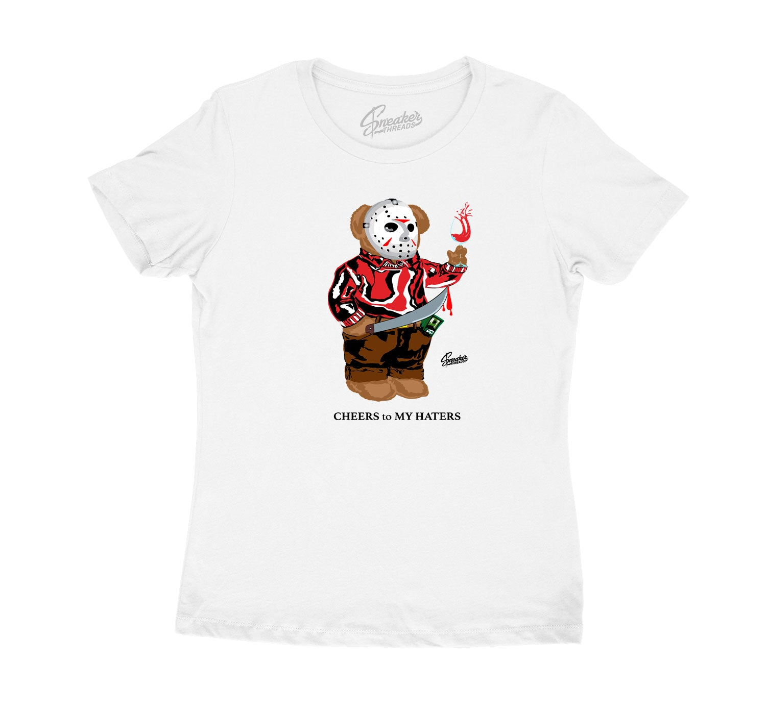 Womens - Gym Red 9 Jason Bear Shirt