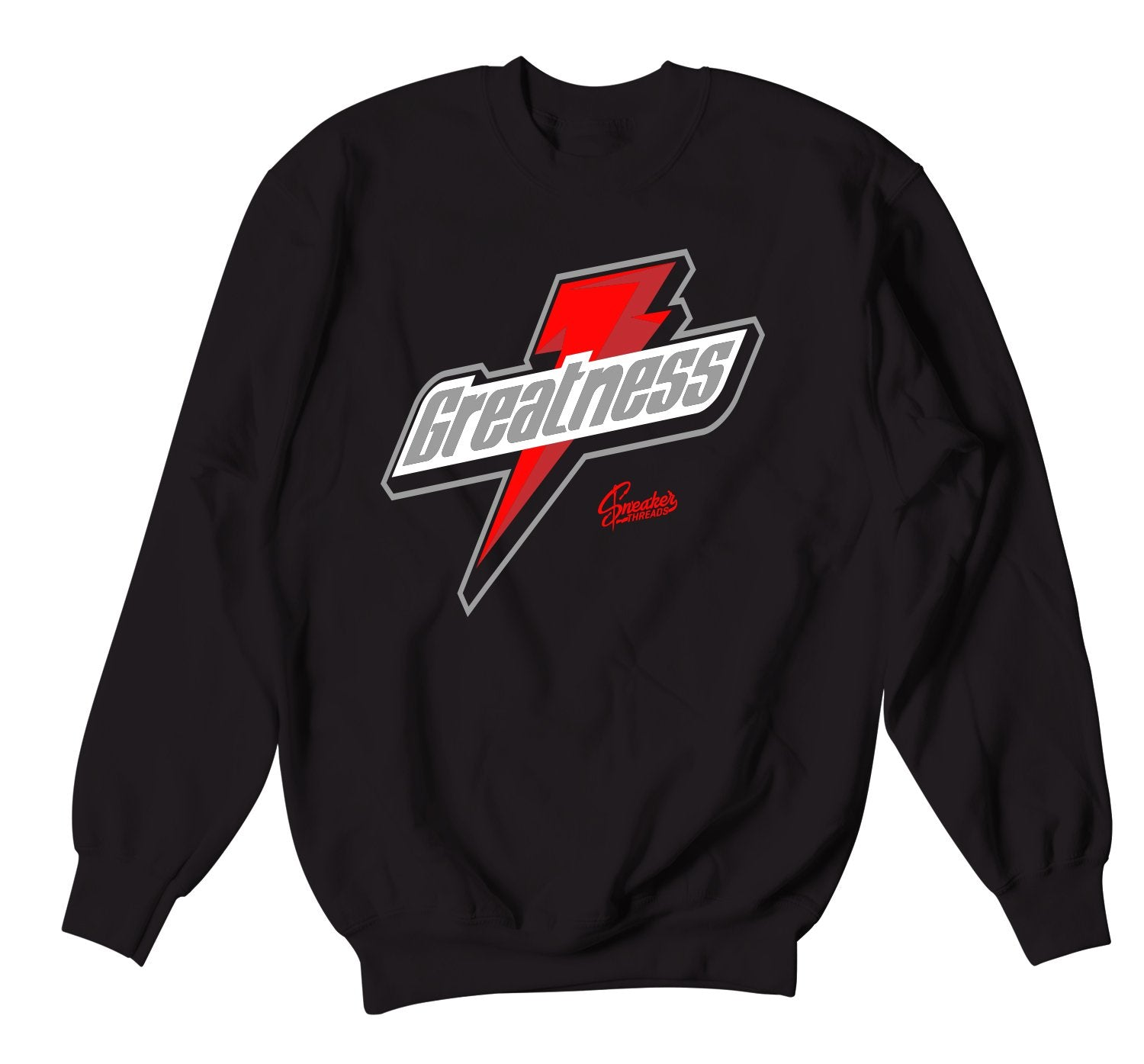 crewneck sweatshirts created to match the bred 11s perfect