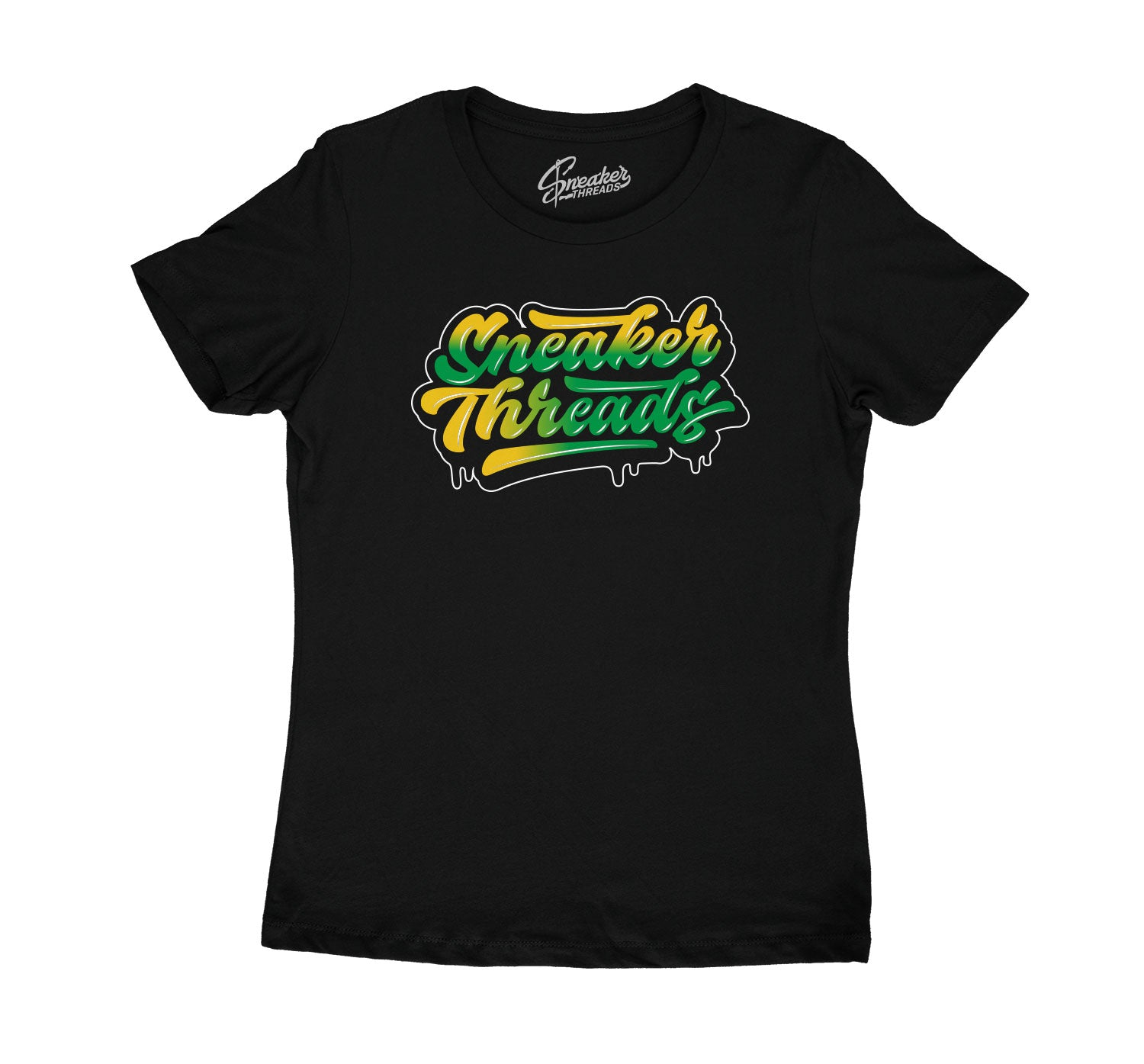 Womens sneaker tees match retro 10s seattle shoes.