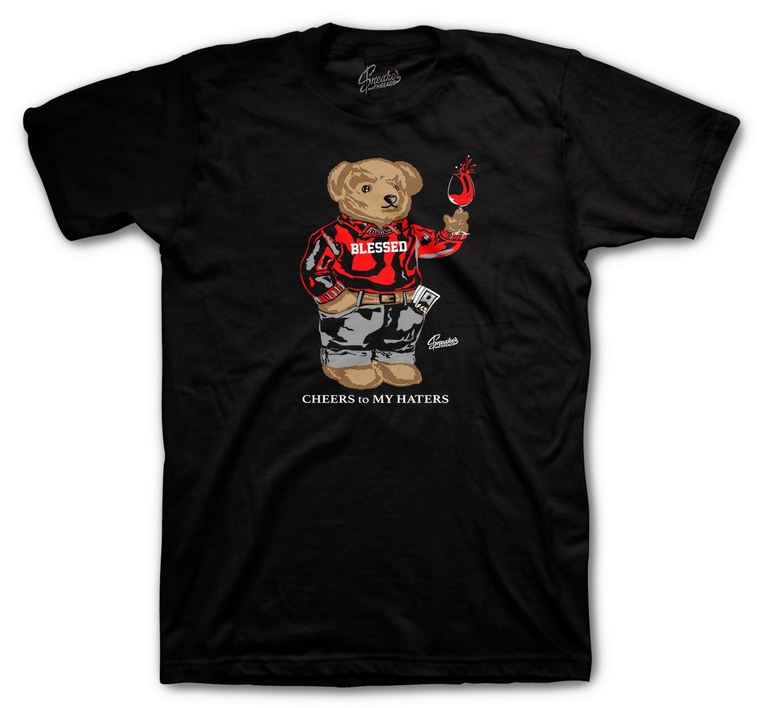 Yeezy 350 Bred Cheers Bear Shirt