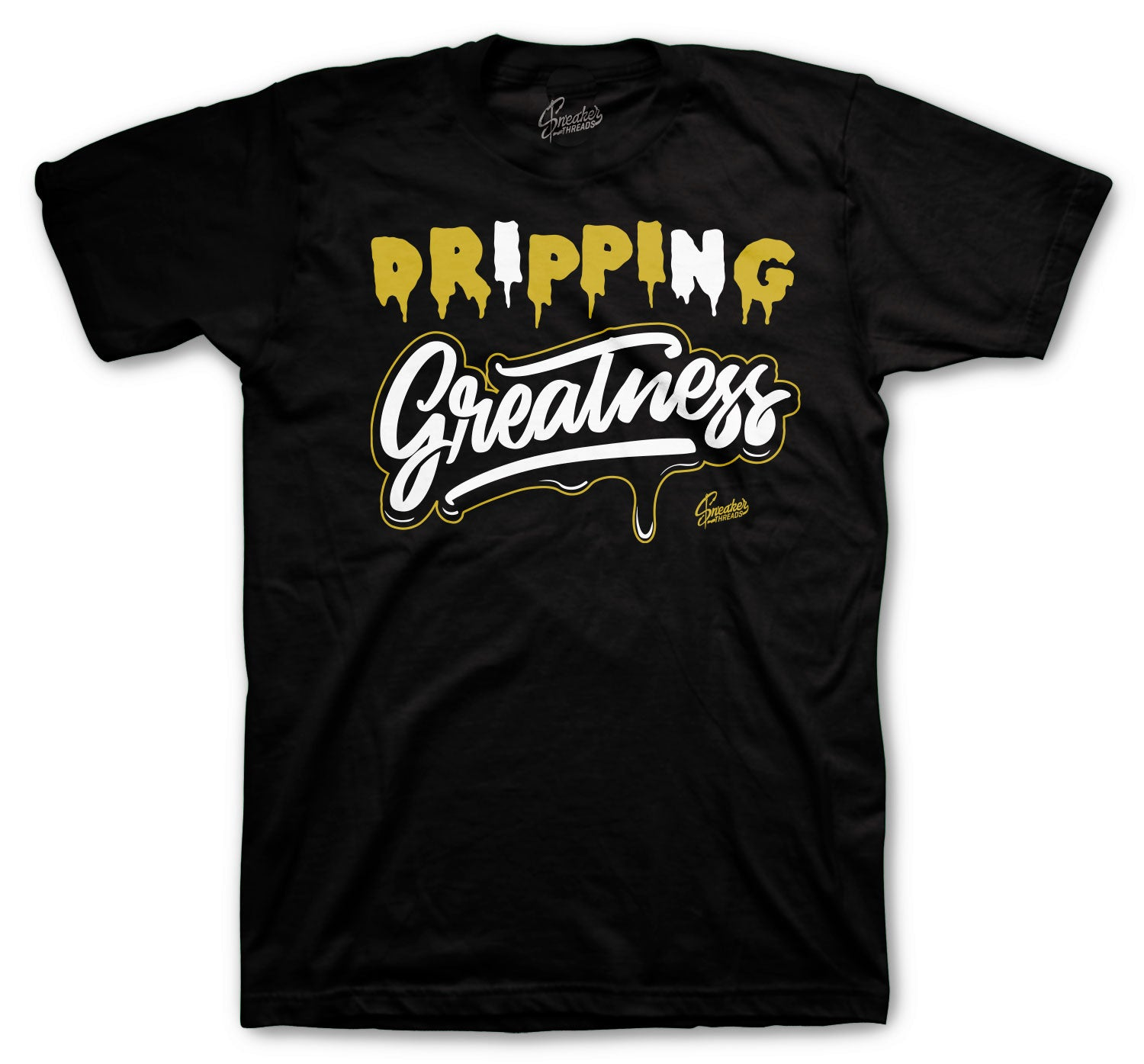 Jordan 1 Black Gold Dripping Greatness Shirt