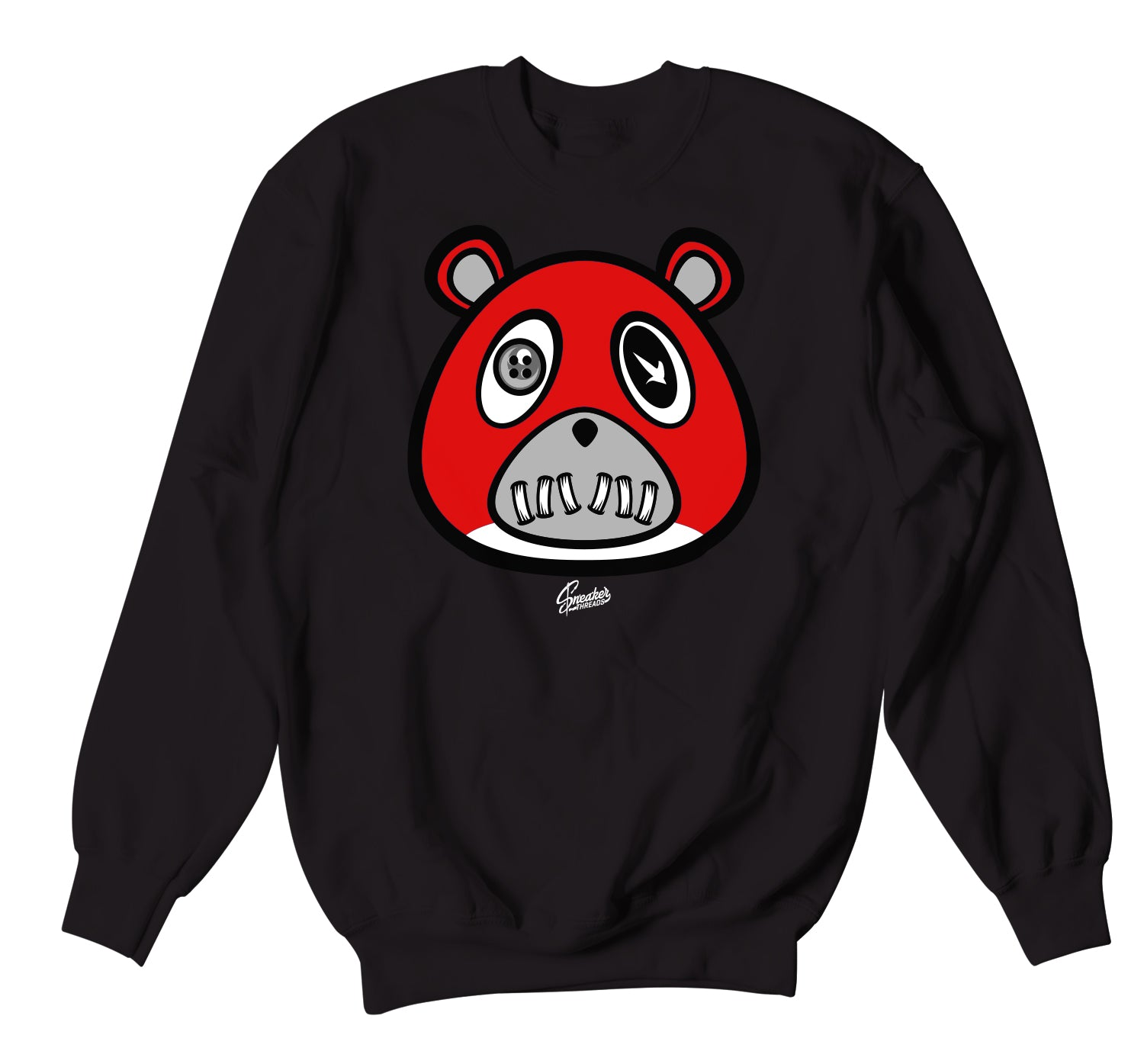 Yeezy 350 Bred ST Bear Sweater