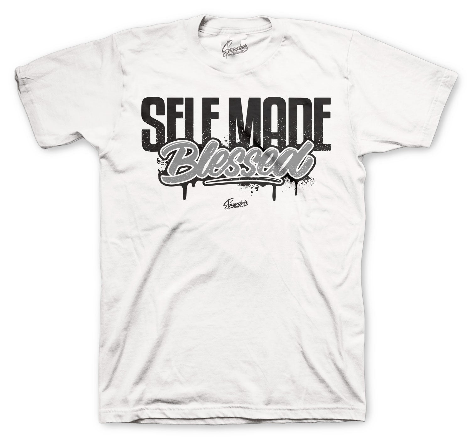 Jordan 4 Black Cat Self made Shirt