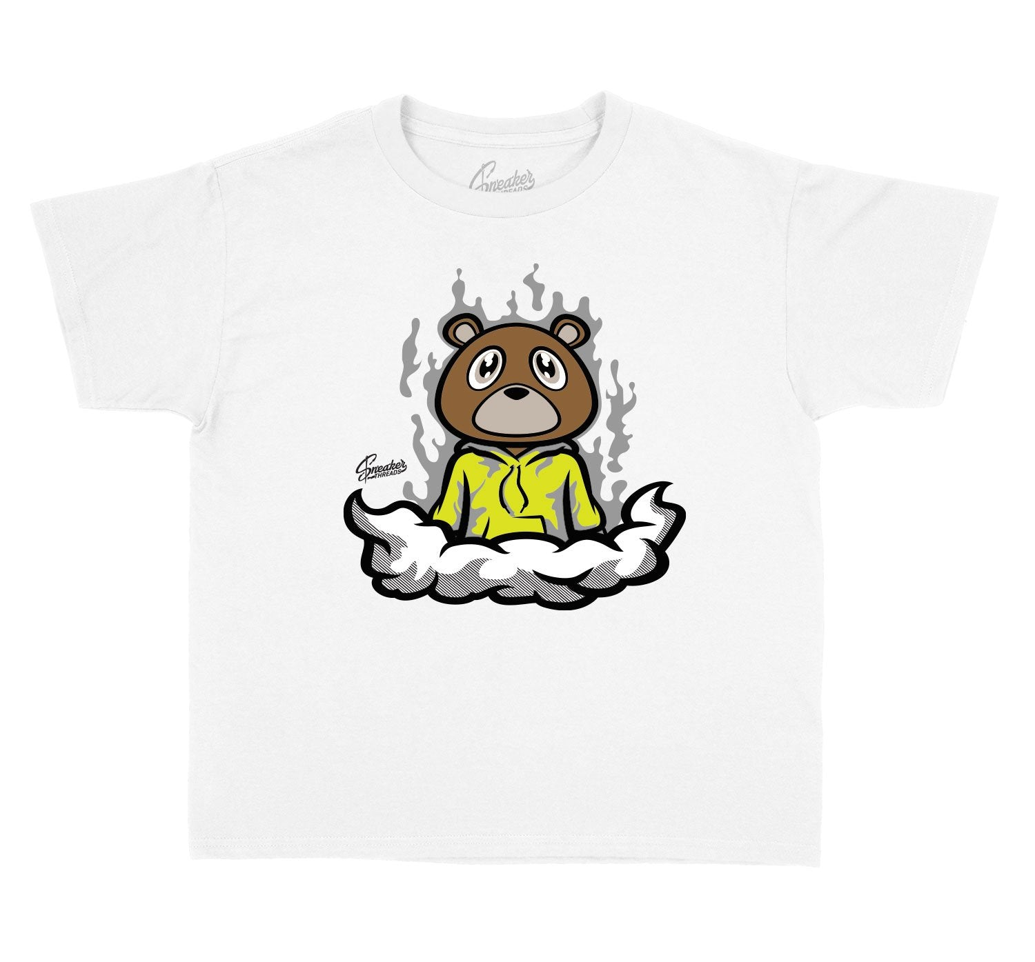 toddlers shirts made to match the yeezy yecehile sneaker collection