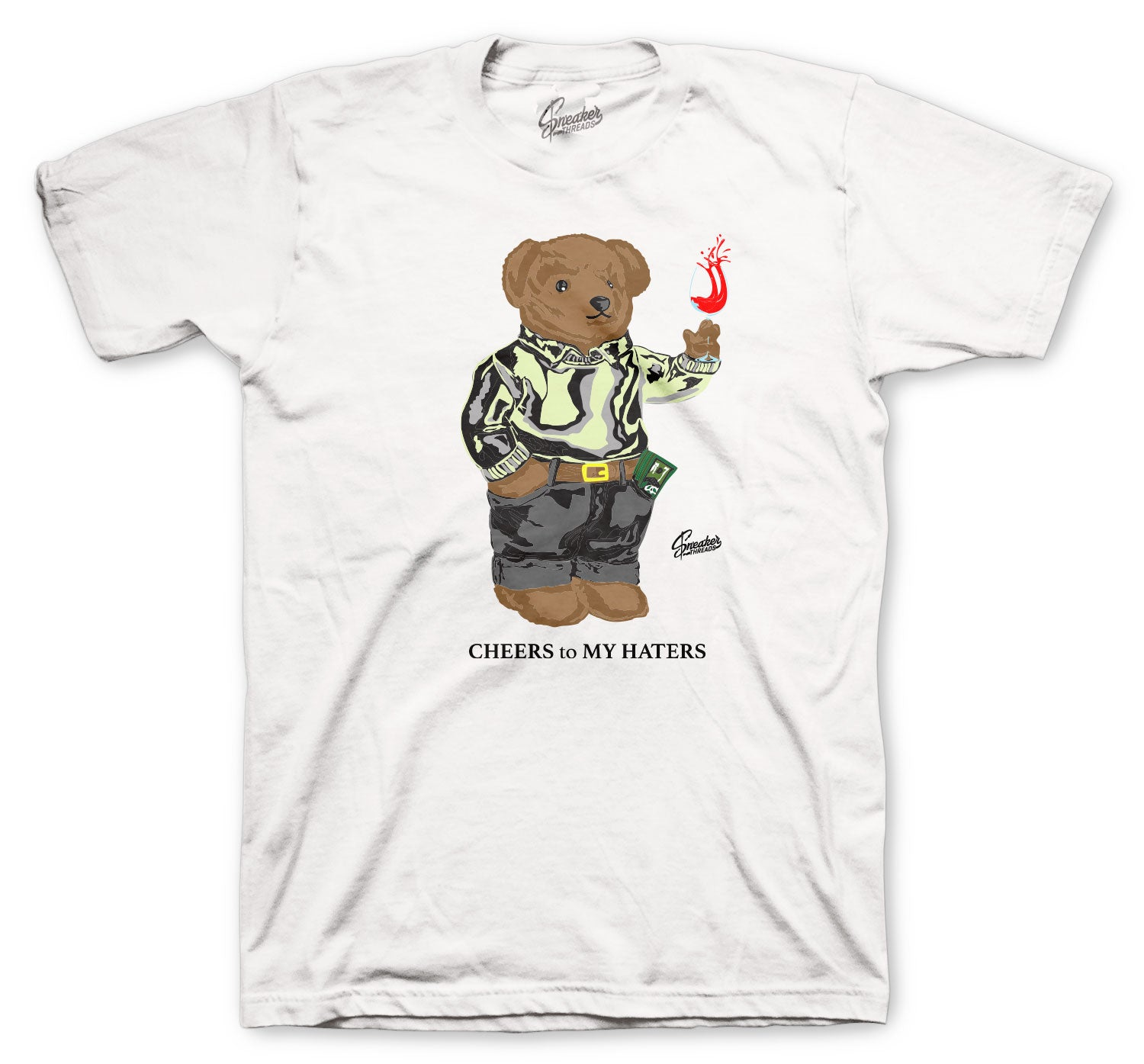 Yeezy Yeshaya Cheers Bear Shirt