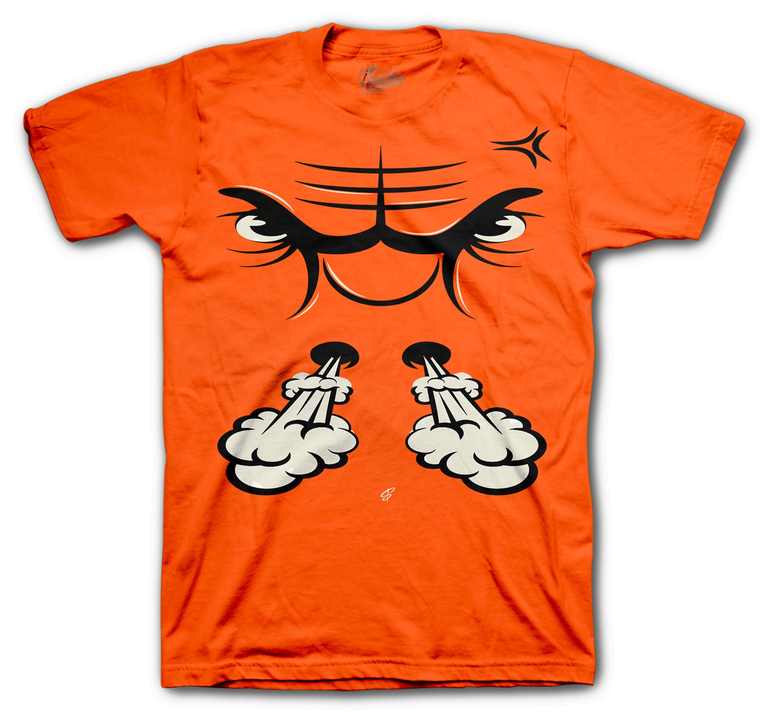 Tee collection for men matches with the Jordan 4 Orange Metallic sneaker