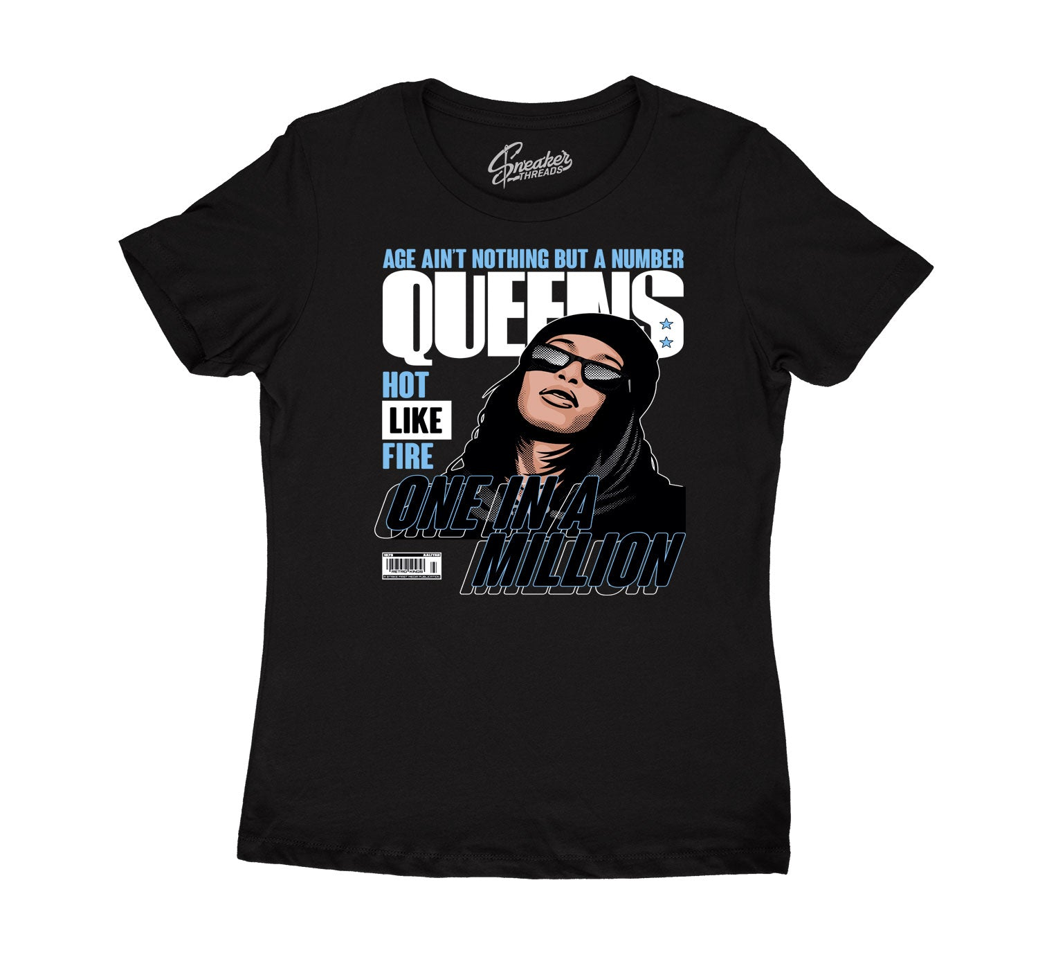 Womens - University Blue 9 Queens Shirt