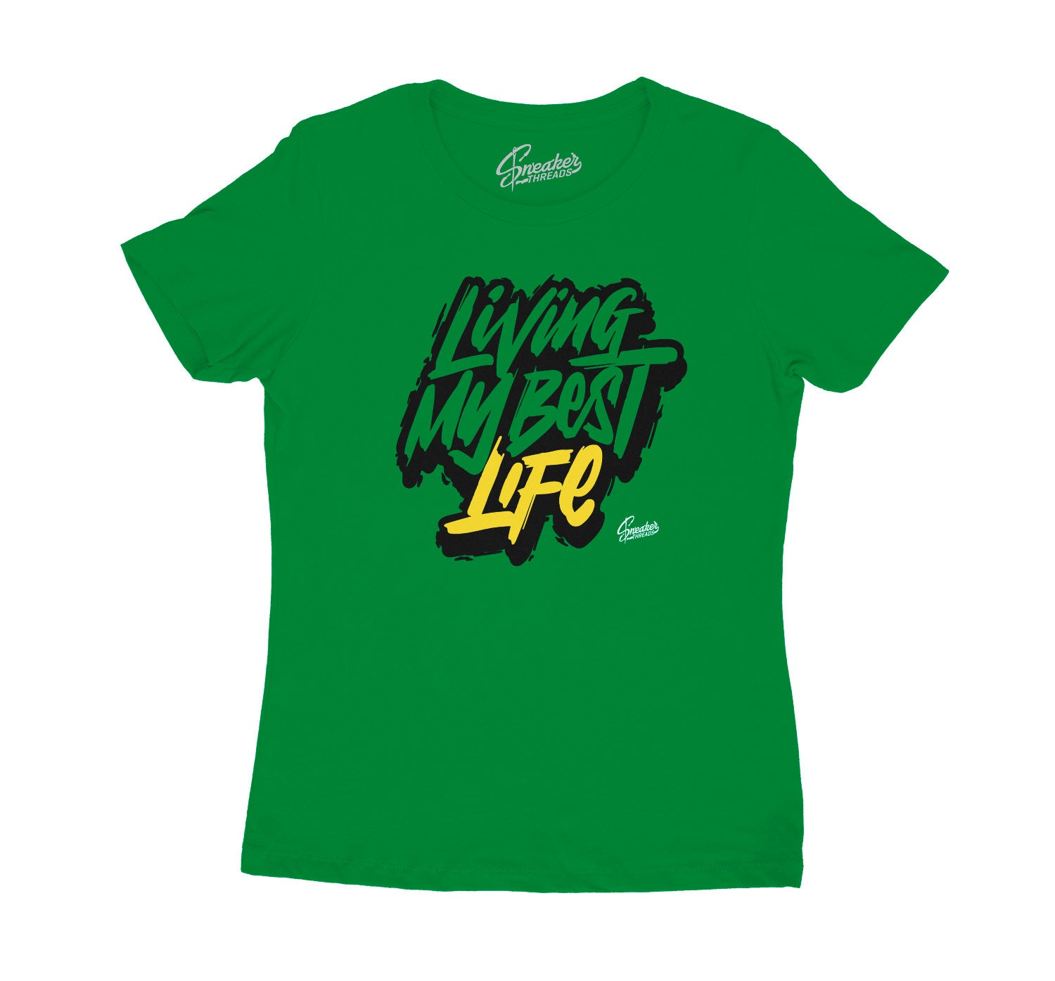 Womens tees made to match the Jordan 10 Seattle sneakers