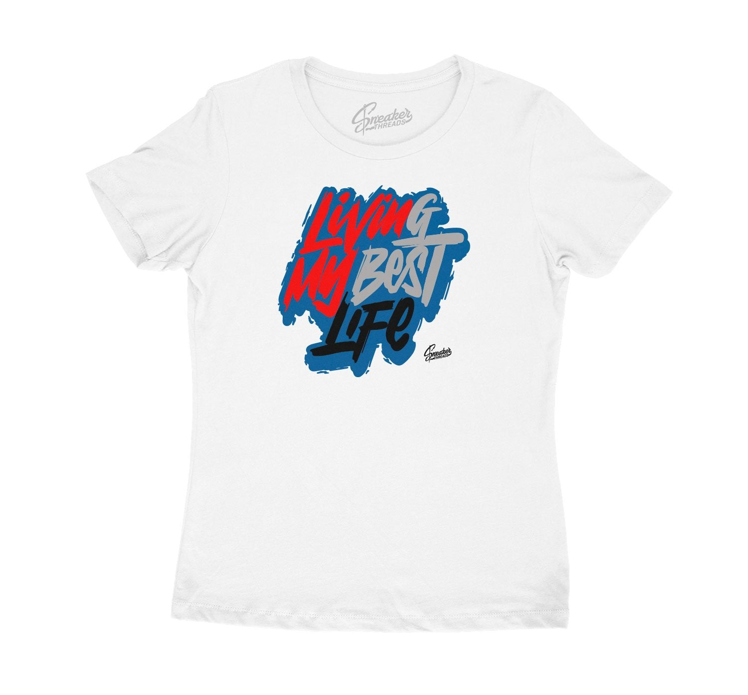 Womens tee collection designed to match the Jordan 4 what the 4s