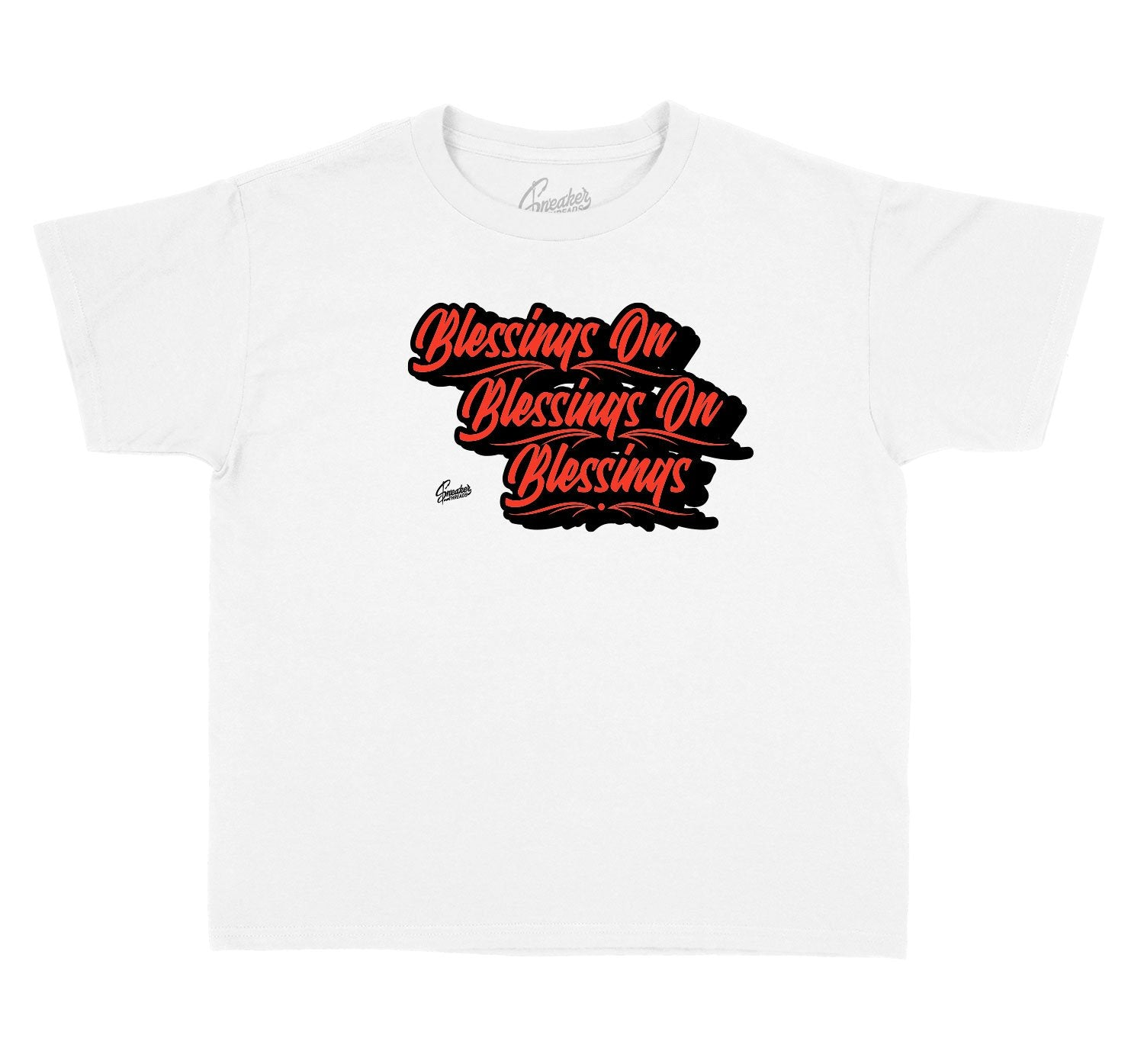 Sneaker collections foamposite lava matching kids tees