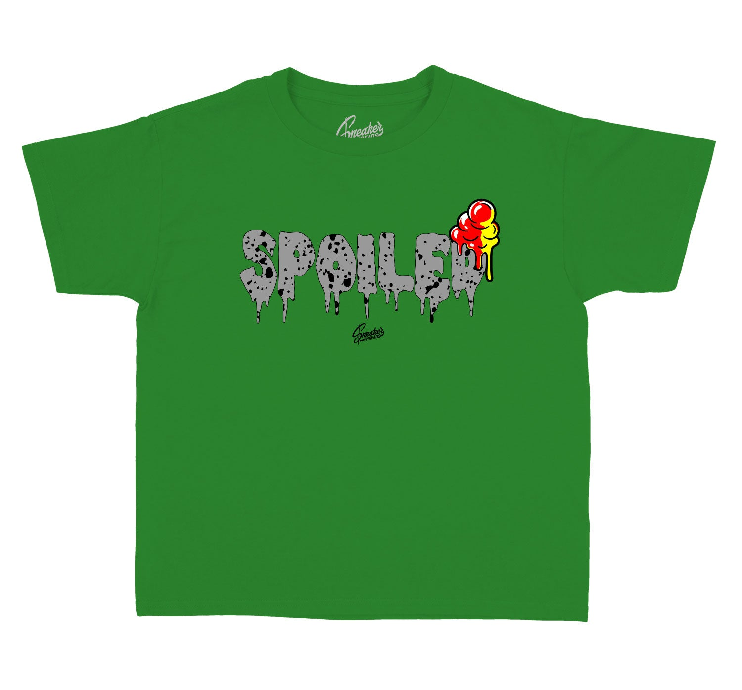 Rasta Jordan 4 sneaker collection has matches perfectly with kids tee collection