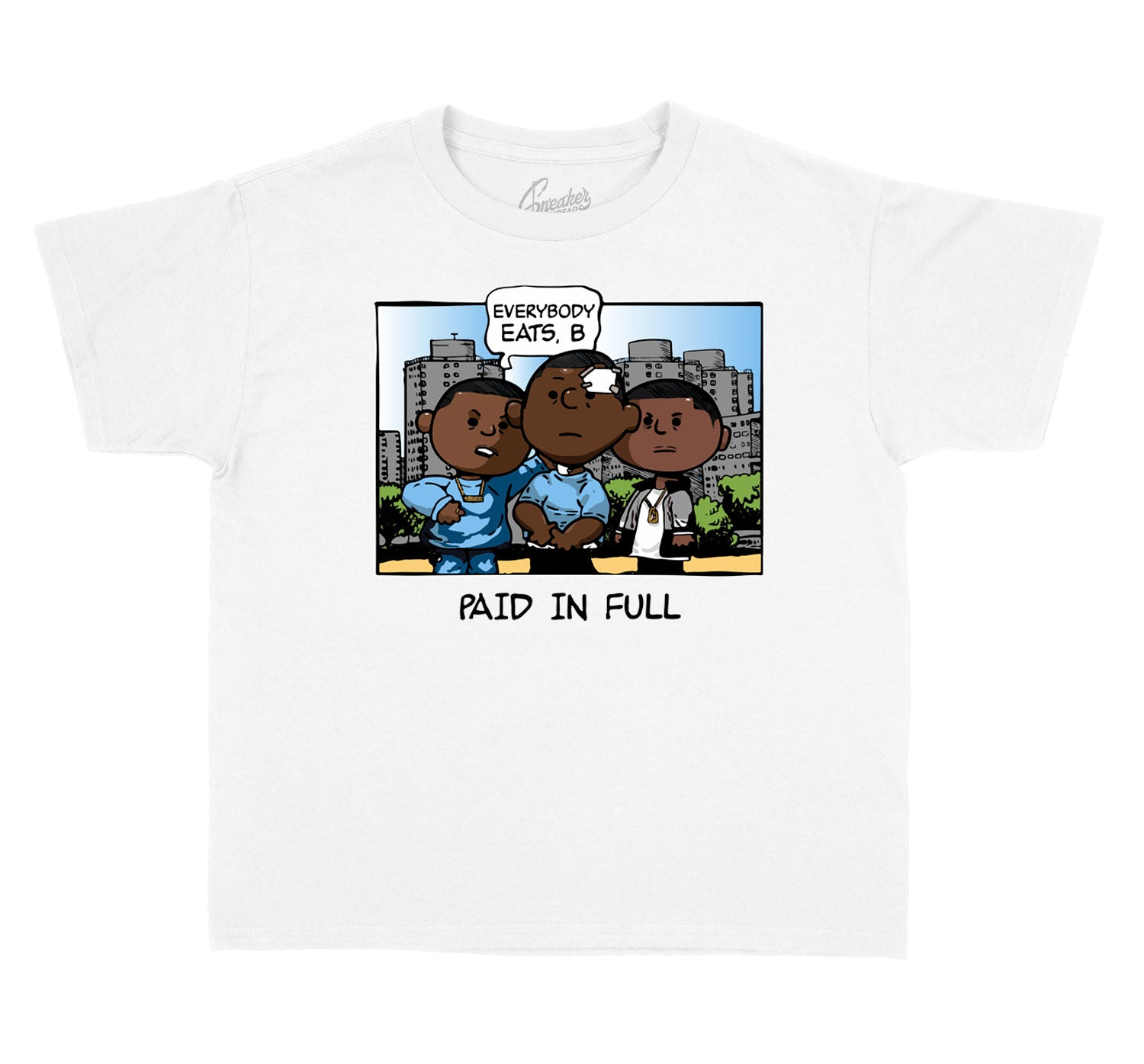 Kids - University Blue 1 Paid Peanuts Shirt