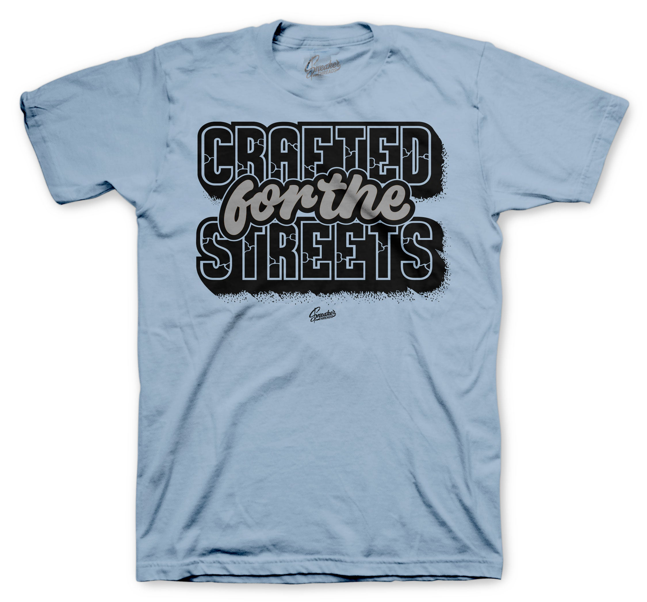 Crafted for the streets shirt to match perfect with Yeezy Hospital Blue
