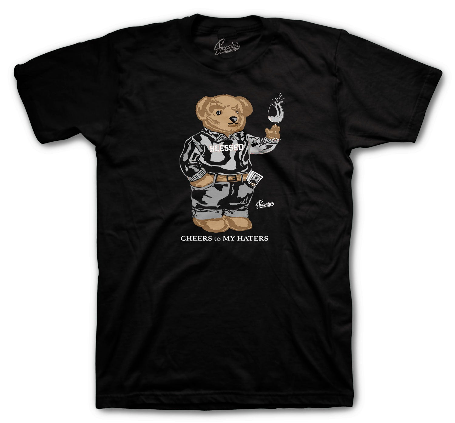 Jordan 11 Jubilee Cheers Bear Shirt