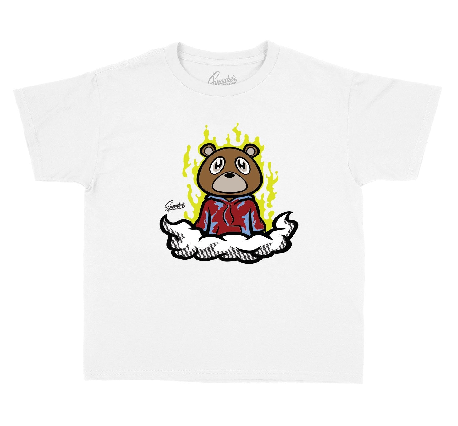 Kids tees made to match the yeezy yecheil sneakers