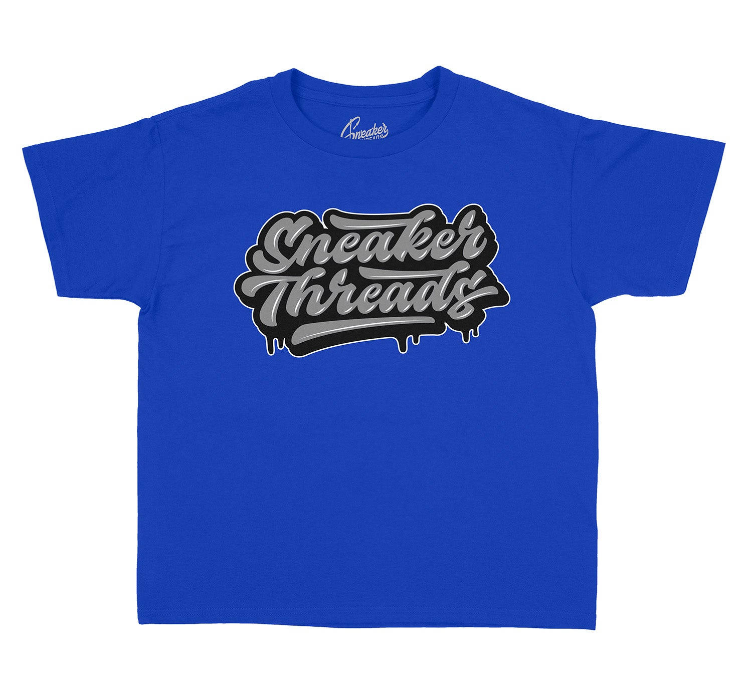 Boys tees matching with the Jordan 12 kids royal game sneakers