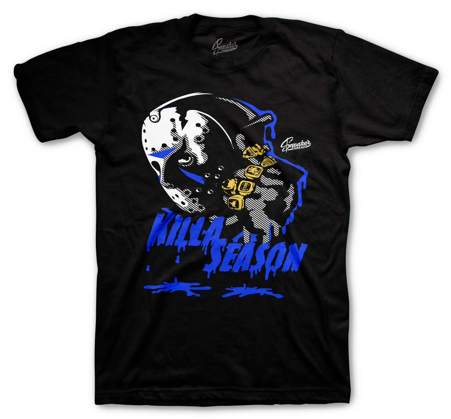 Jordan 14 Hyper Royal Killa Season Shirt