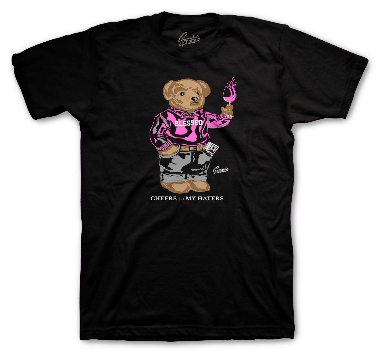 Pinksicle Jordan 8 retro sneaker matching with t shirts