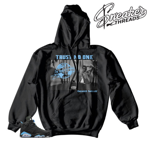 Jordan 6 UNC Tony Knows Hoody