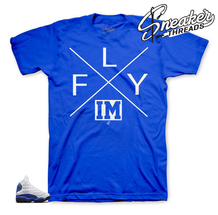 Jordan 13 Hyper Royal Im Fly Shirt