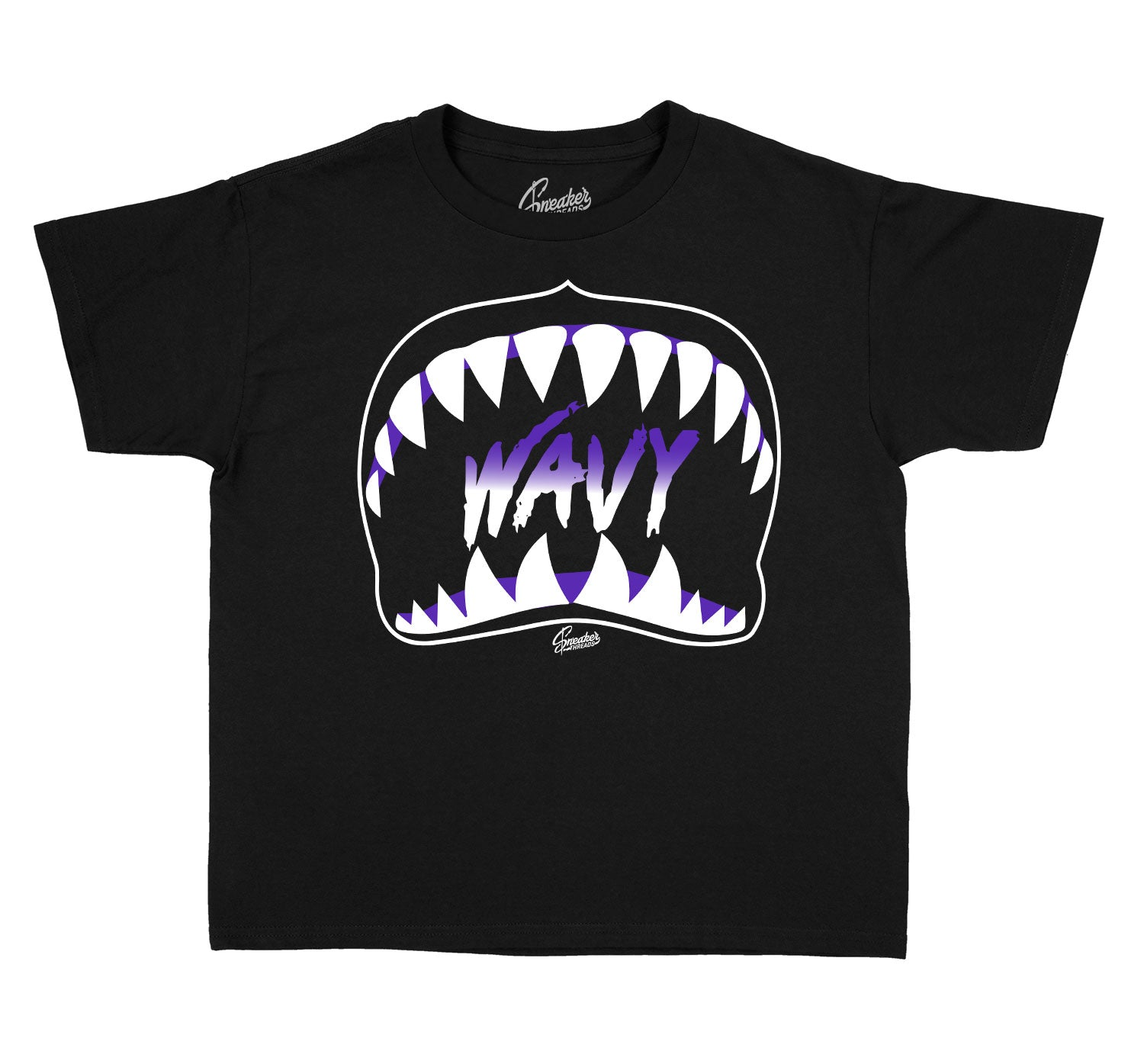 Kids - Dark Concord 12 Wavy Shirt